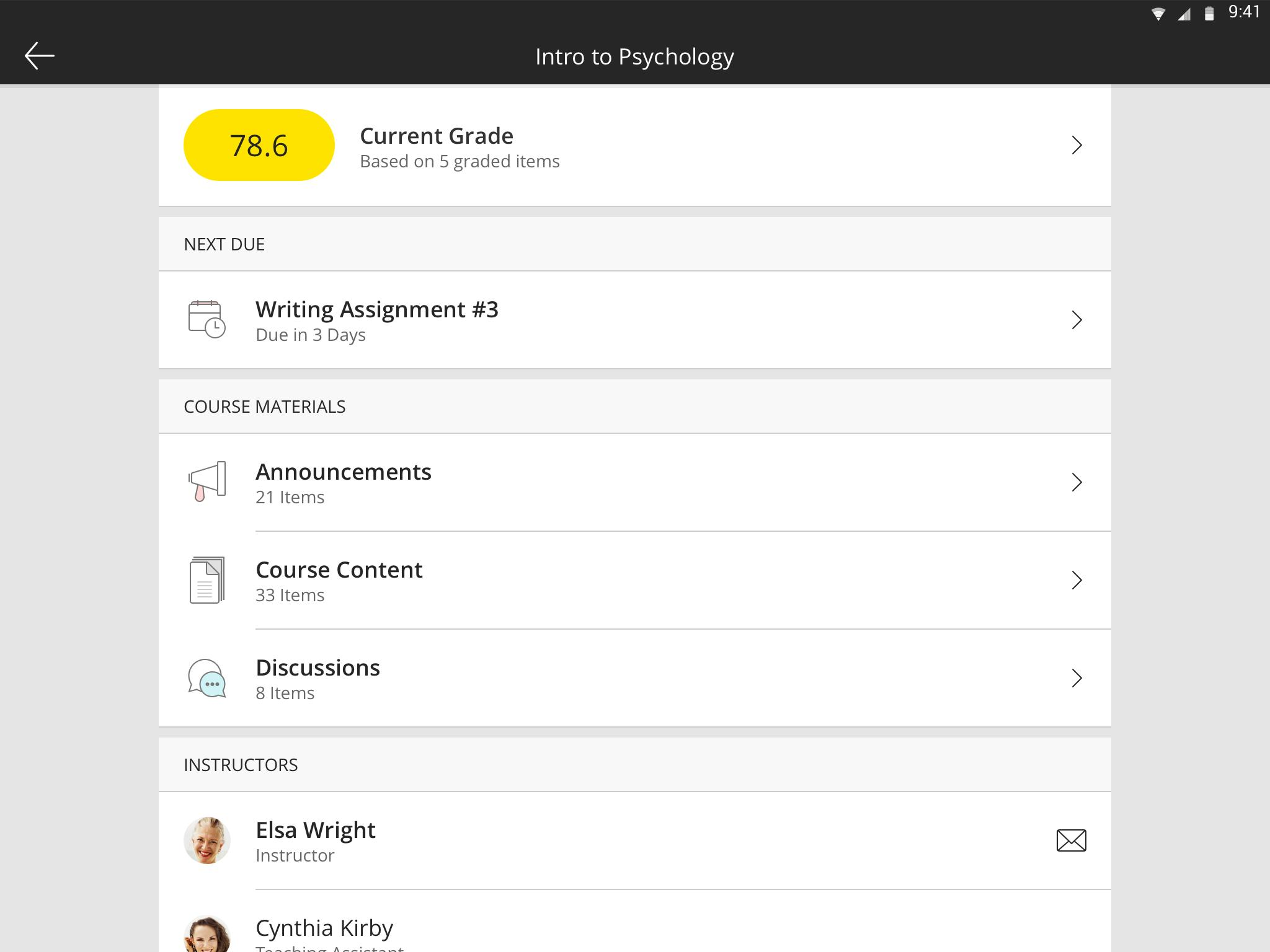 Blackboard 4.9.0 Screenshot 8