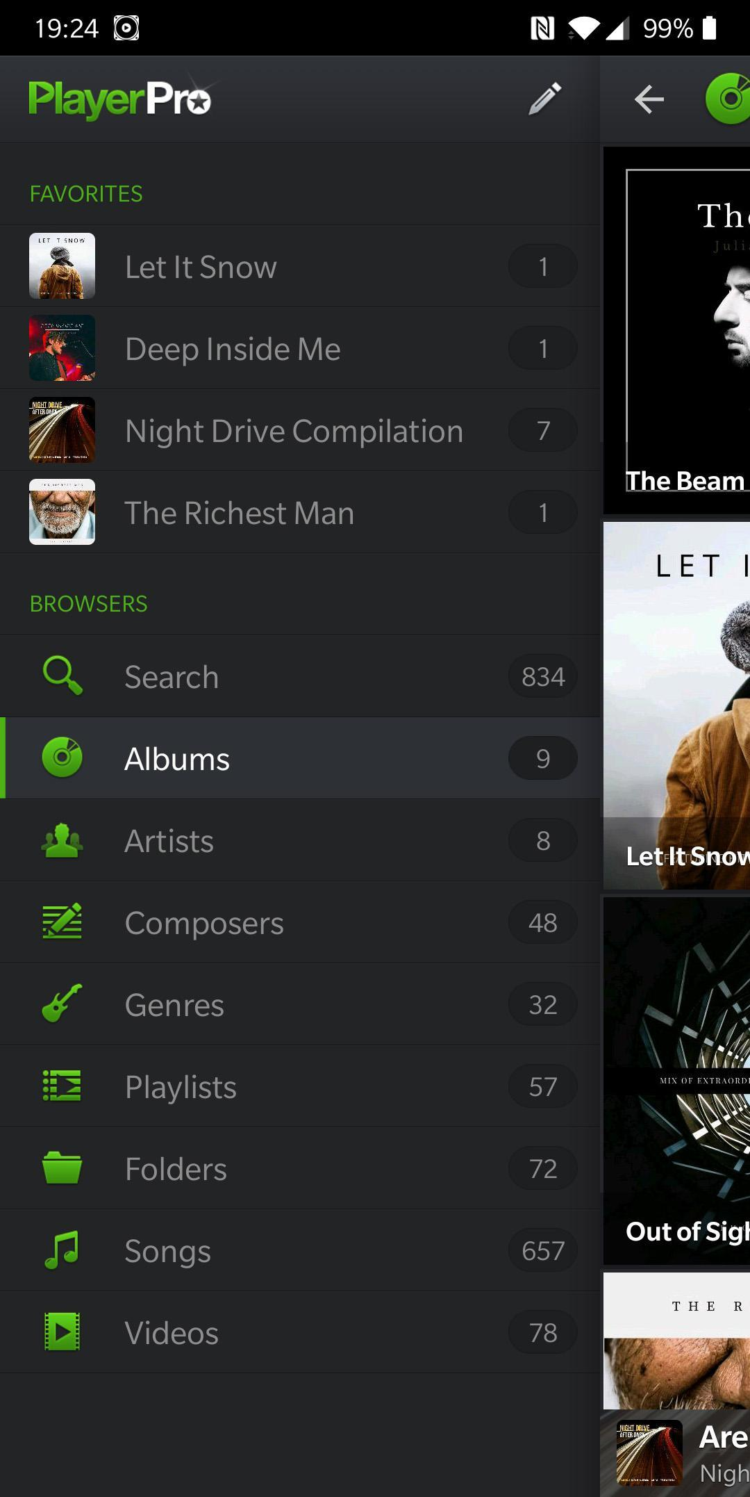 PlayerPro Music Player (Free) 5.5 Screenshot 5