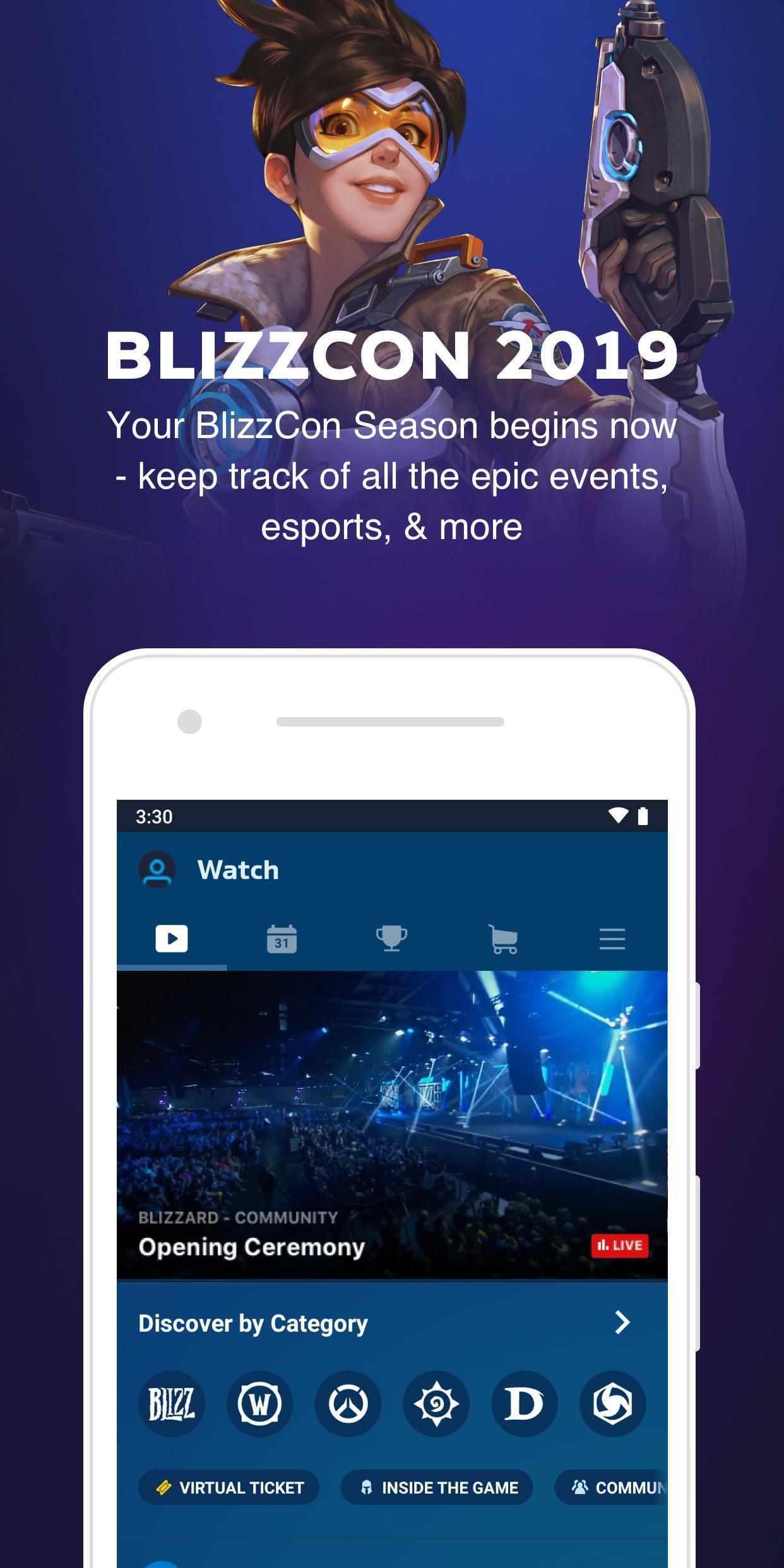 BlizzCon Mobile 5.2.1 Screenshot 1