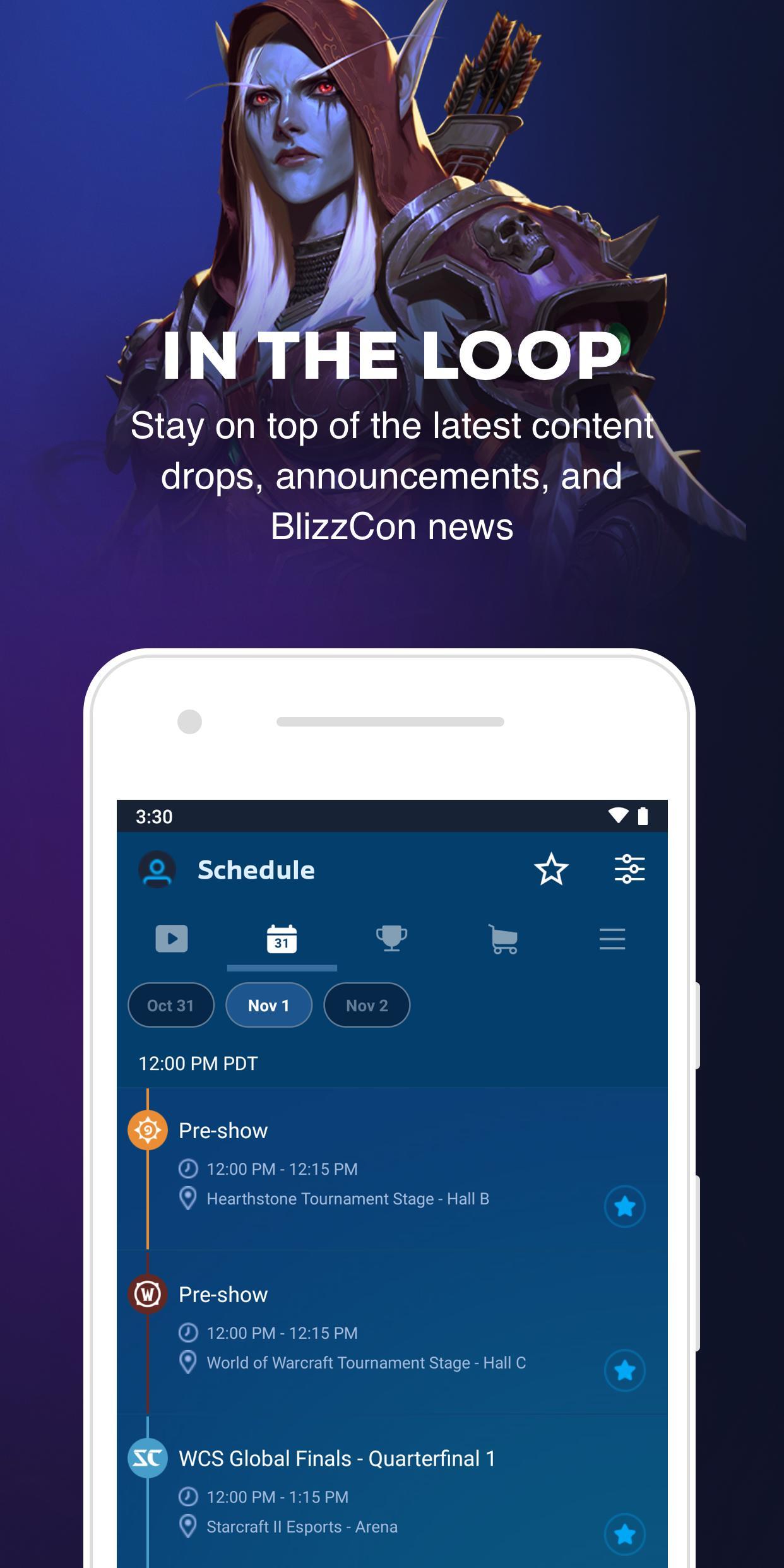 BlizzCon Mobile 5.2.1 Screenshot 2