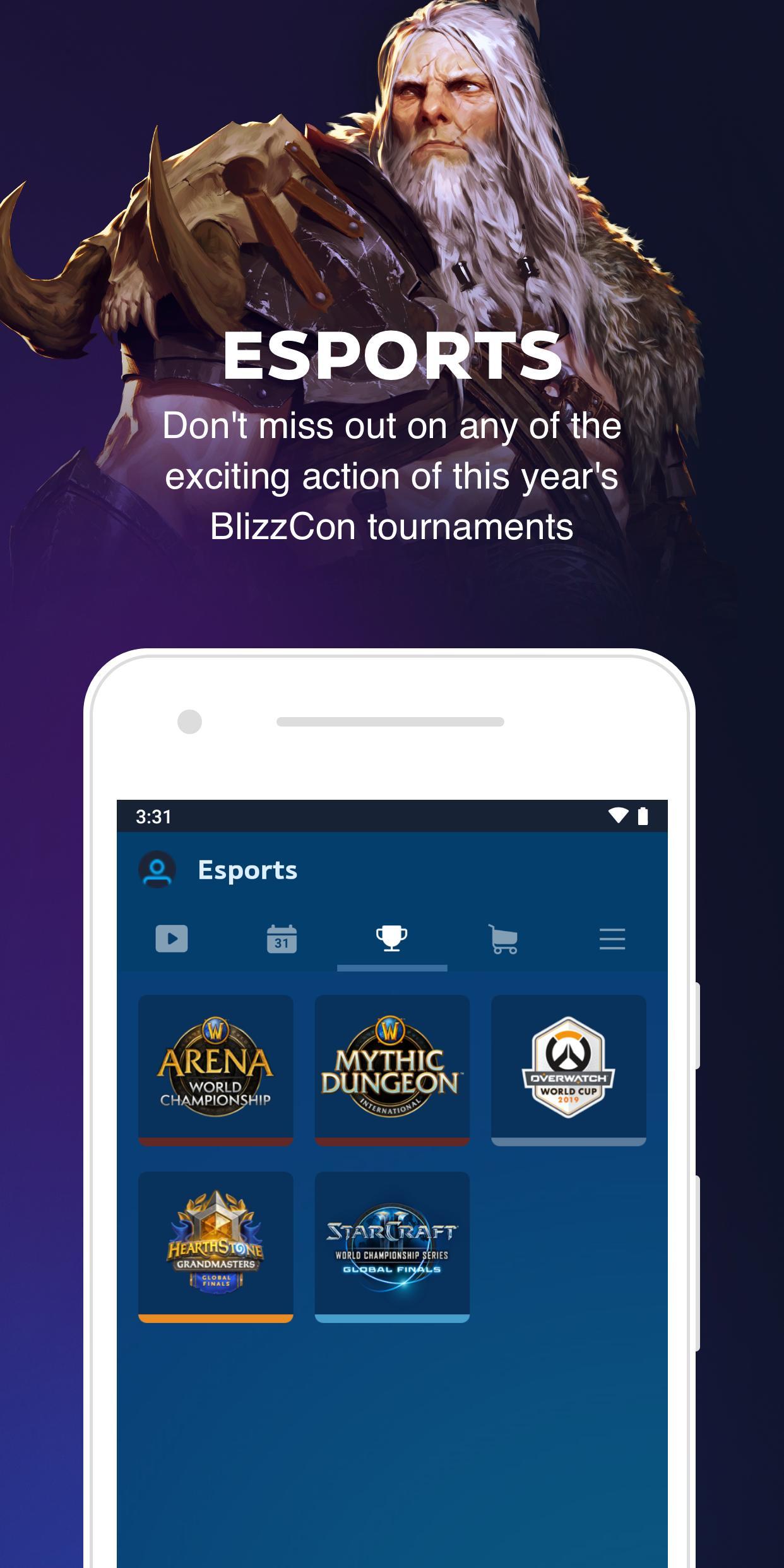 BlizzCon Mobile 5.2.1 Screenshot 3