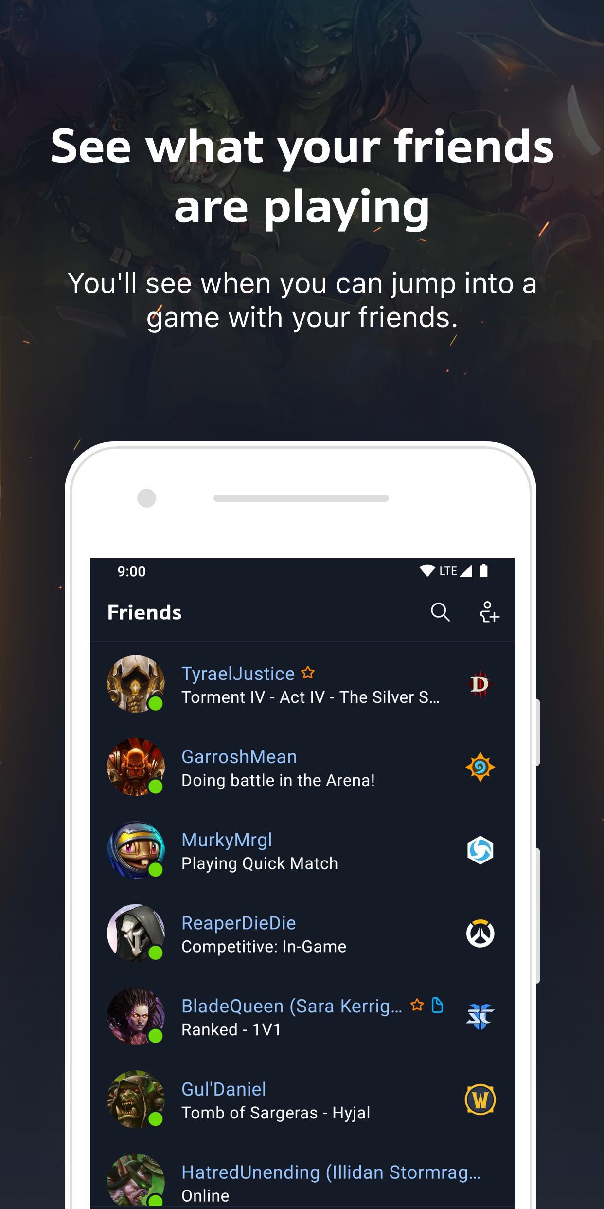 Blizzard Battle.net 1.5.3.87 Screenshot 2