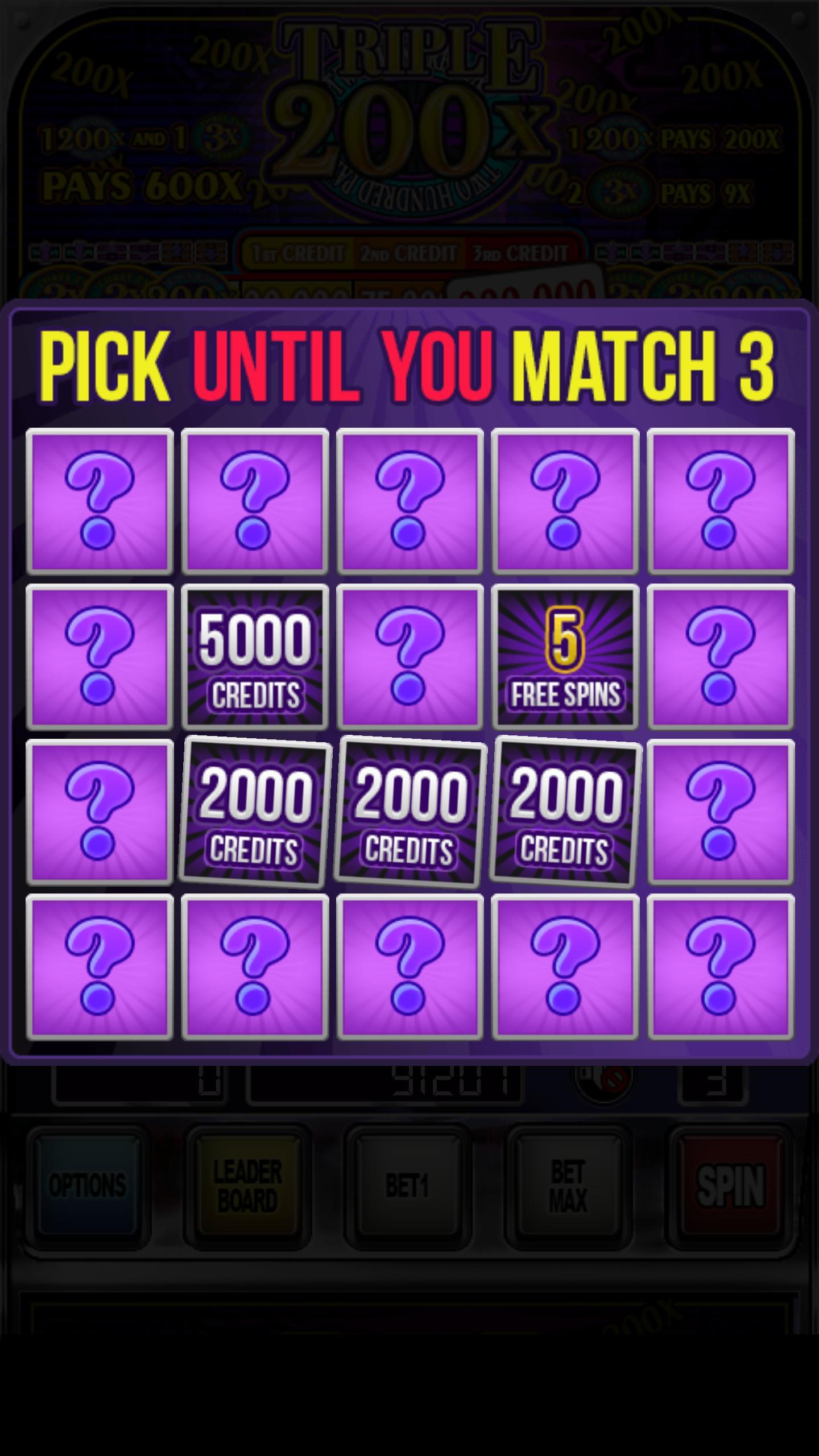 Triple 200x Pay Slot Machines 2.853 Screenshot 3