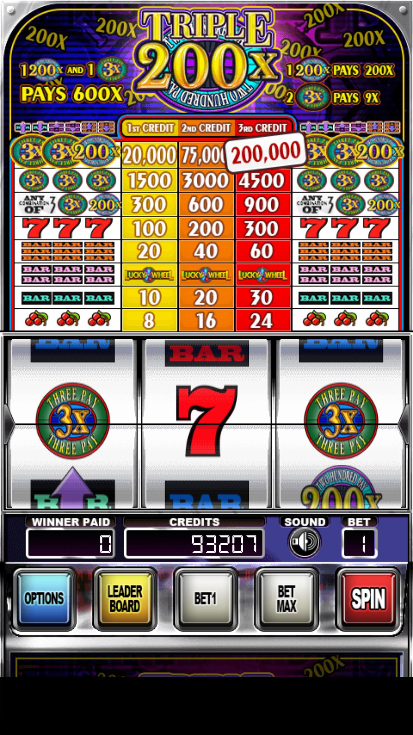 Triple 200x Pay Slot Machines 2.853 Screenshot 6
