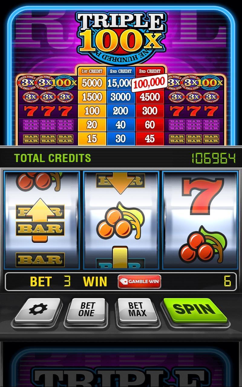 Triple 100x Slots HD 2.853 Screenshot 1