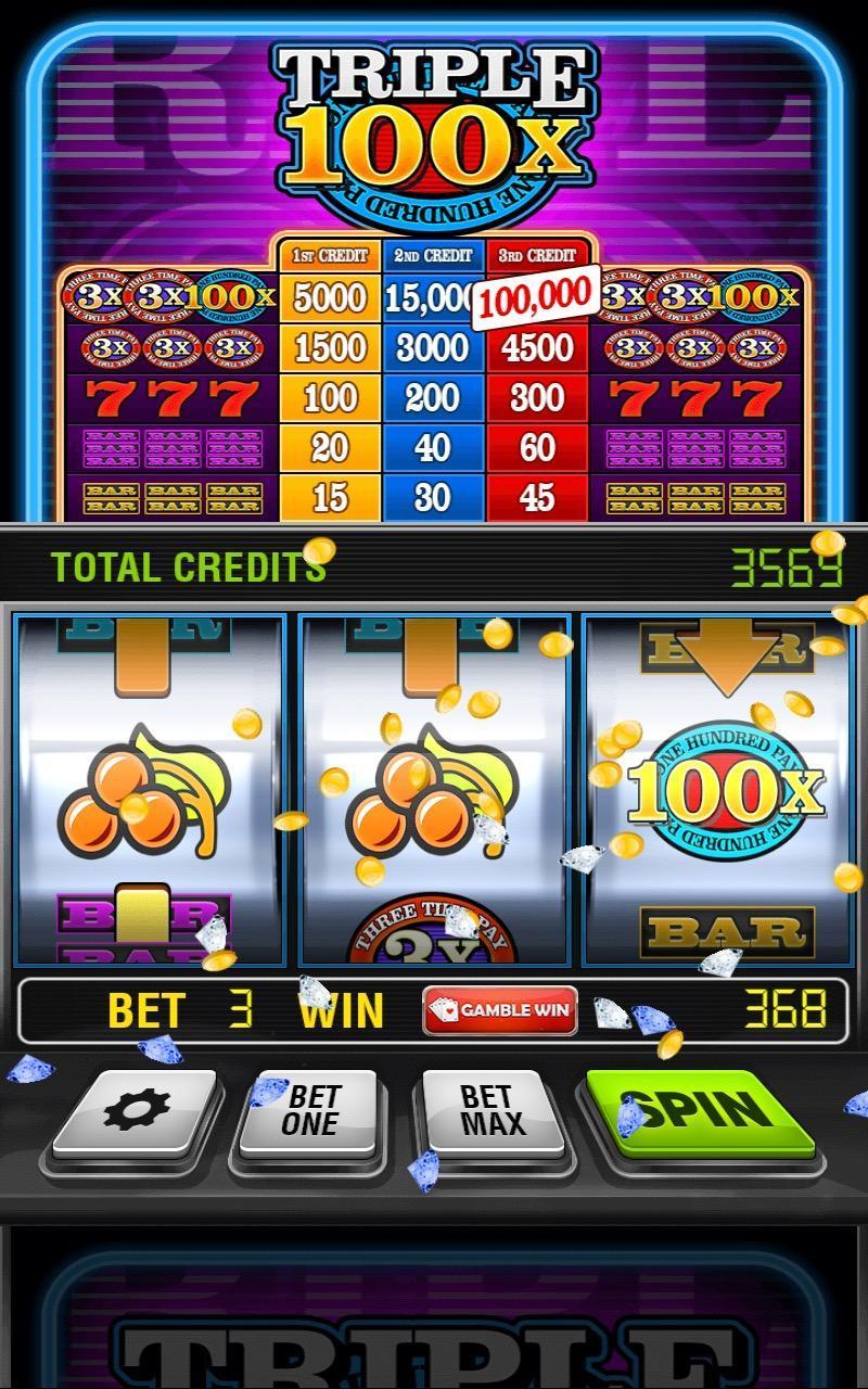 Triple 100x Slots HD 2.853 Screenshot 2