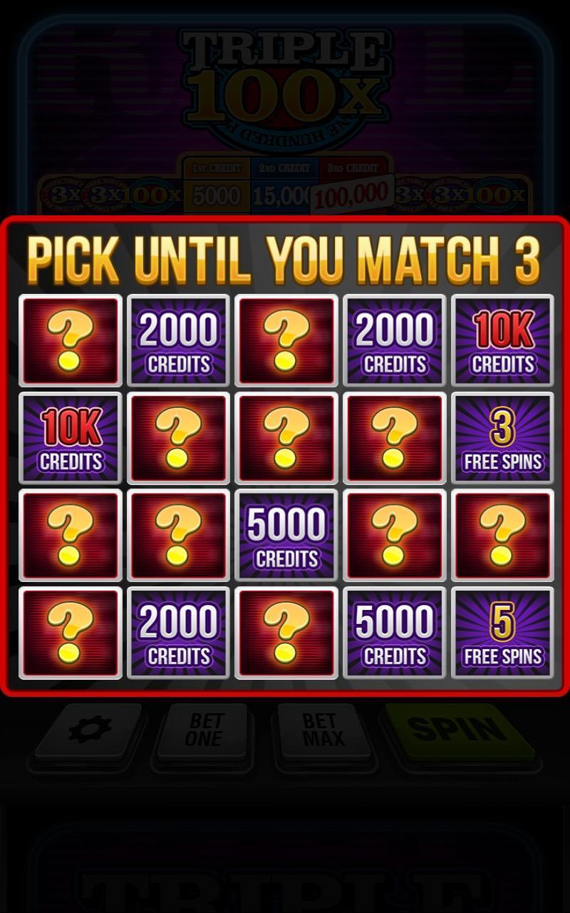 Triple 100x Slots HD 2.853 Screenshot 3