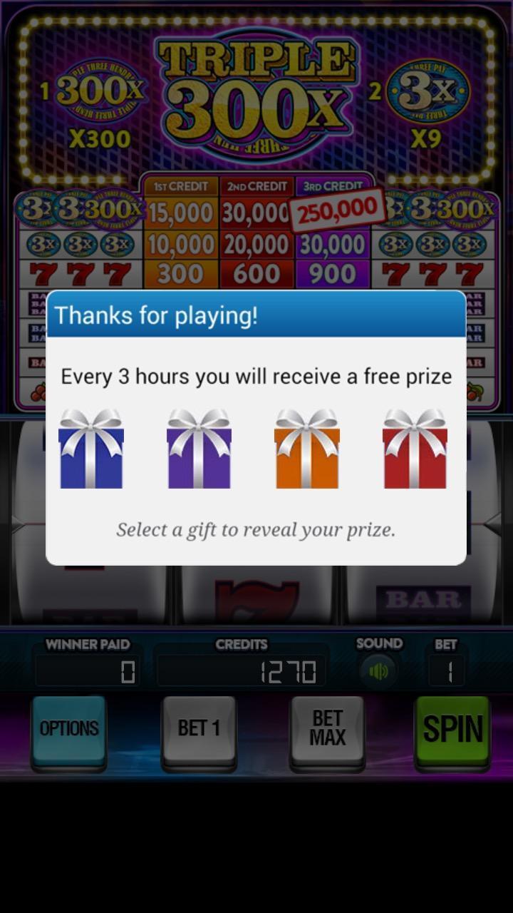 Triple 300x Free Vegas Slots 2.853 Screenshot 3