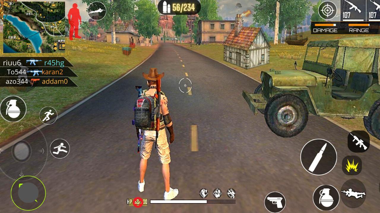 3D Squad Battleground Free Fire 3D Team Shooter 1.8 Screenshot 1