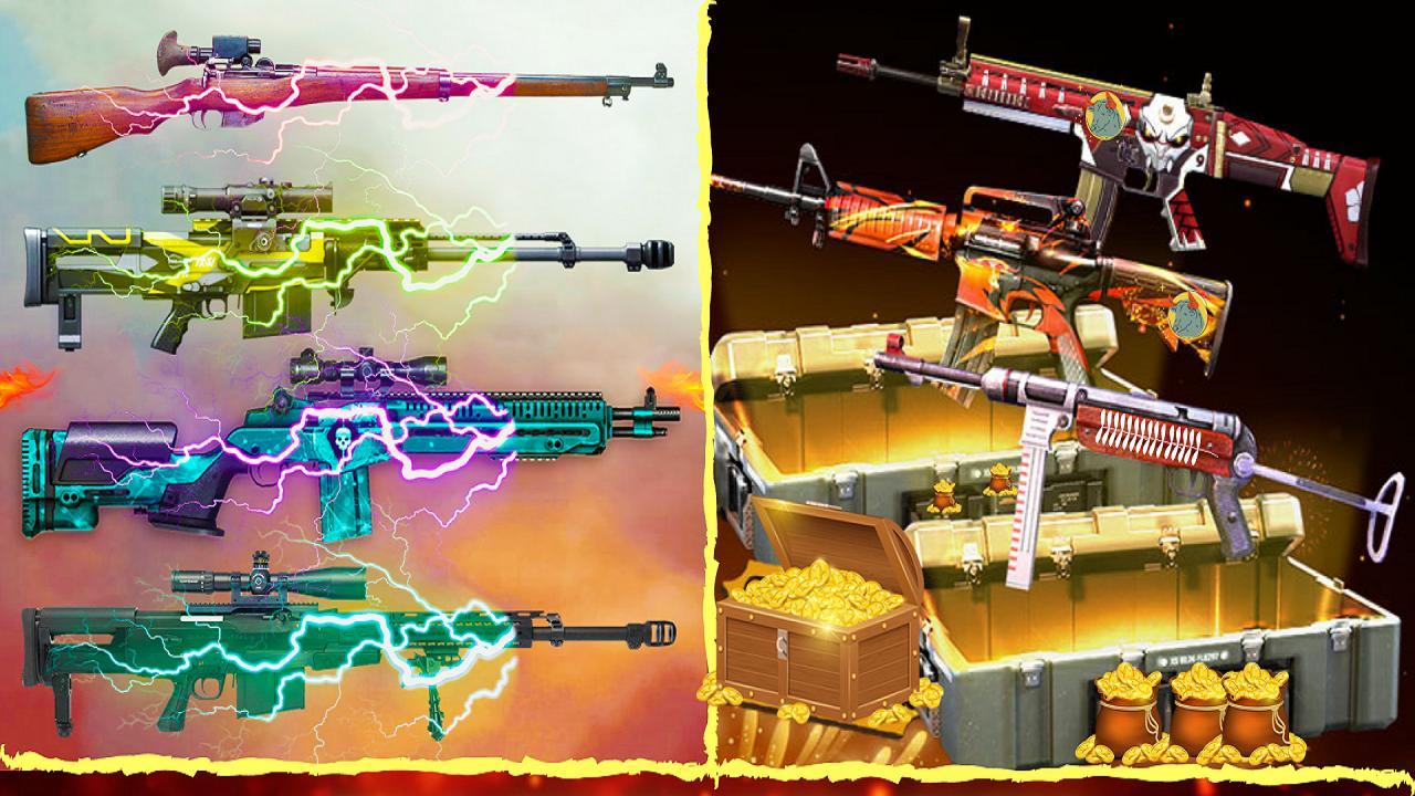 3D Squad Battleground Free Fire 3D Team Shooter 1.8 Screenshot 11
