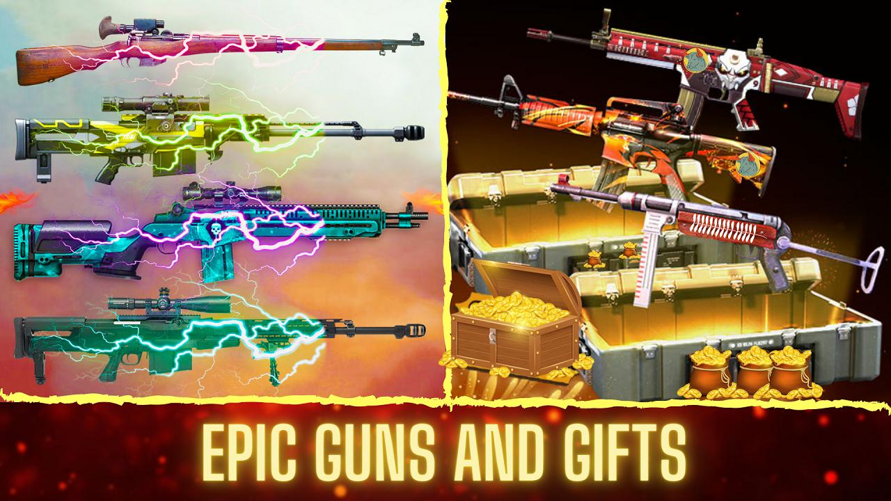 3D Squad Battleground Free Fire 3D Team Shooter 1.8 Screenshot 4