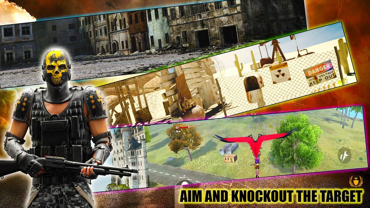 3D Squad Battleground Free Fire 3D Team Shooter 1.8 Screenshot 5