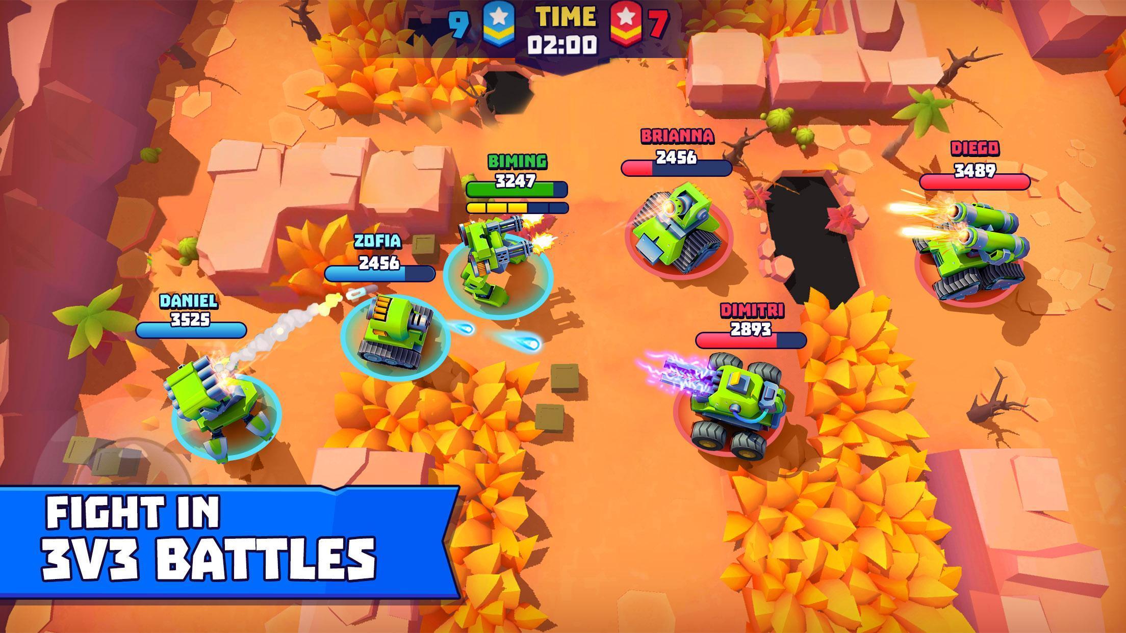 Tanks A Lot! - Realtime Multiplayer Battle Arena 2.56 Screenshot 1