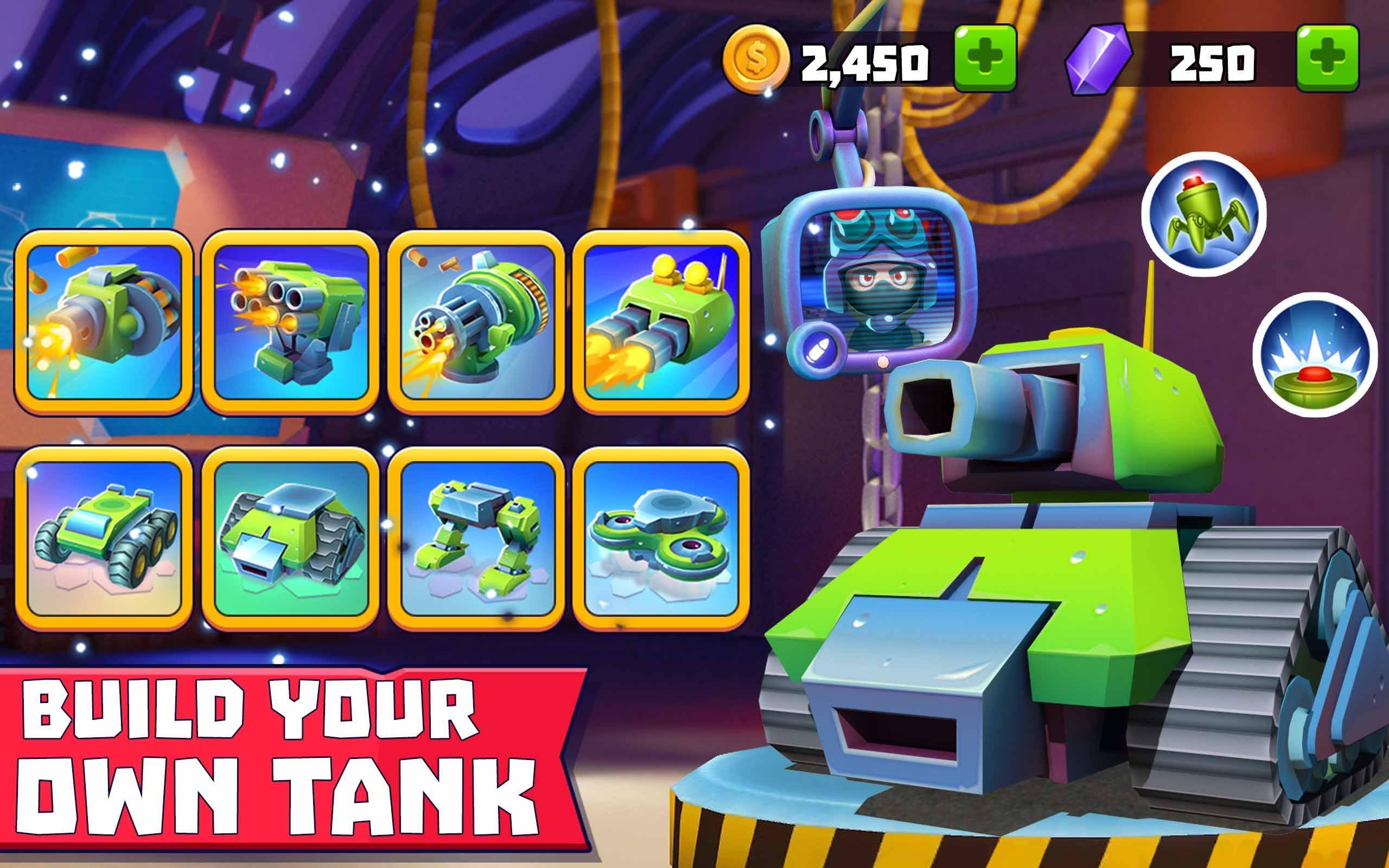 Tanks A Lot! - Realtime Multiplayer Battle Arena 2.56 Screenshot 10