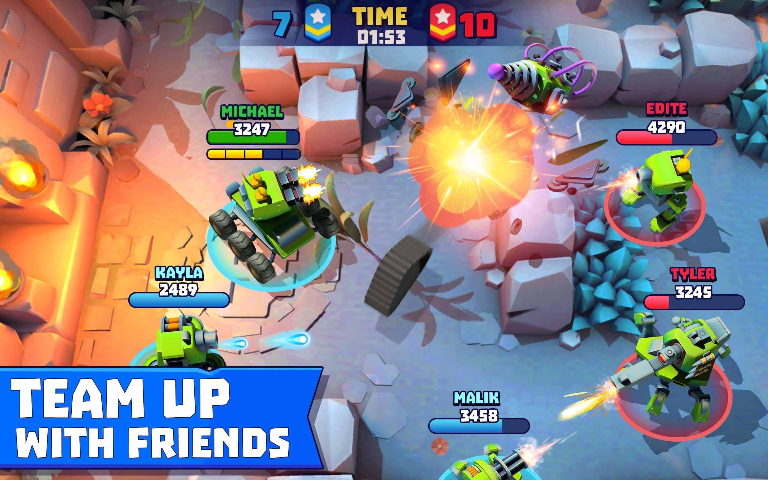 Tanks A Lot! - Realtime Multiplayer Battle Arena 2.56 Screenshot 11