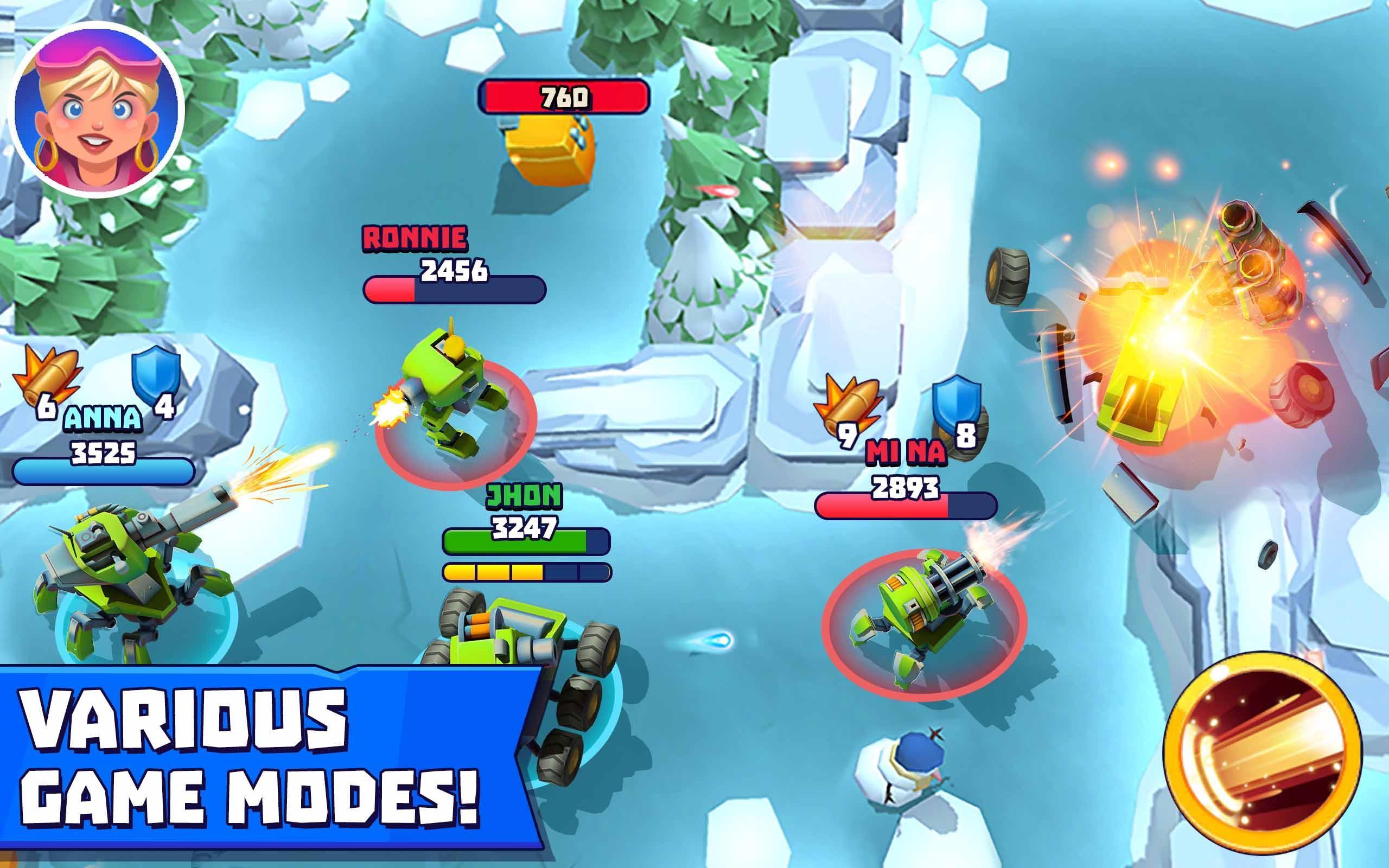 Tanks A Lot! - Realtime Multiplayer Battle Arena 2.56 Screenshot 14