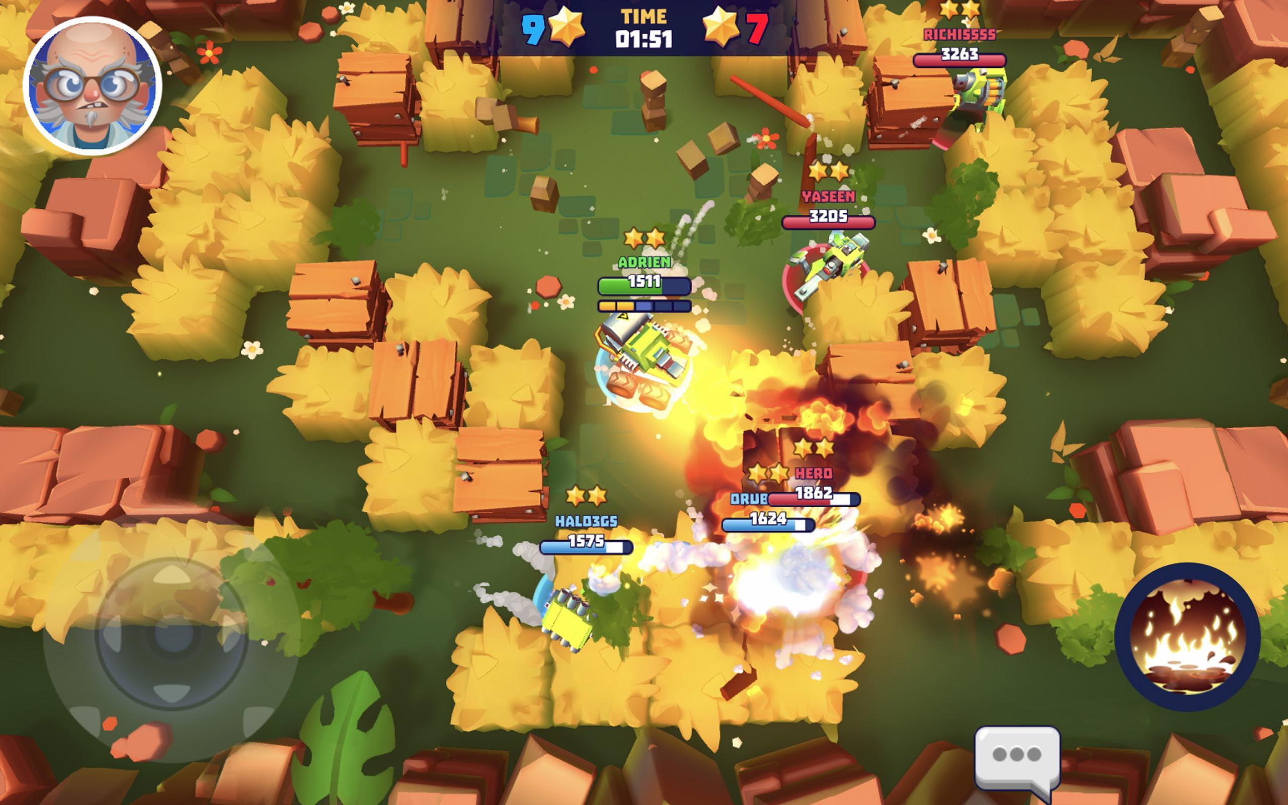 Tanks A Lot! - Realtime Multiplayer Battle Arena 2.56 Screenshot 16