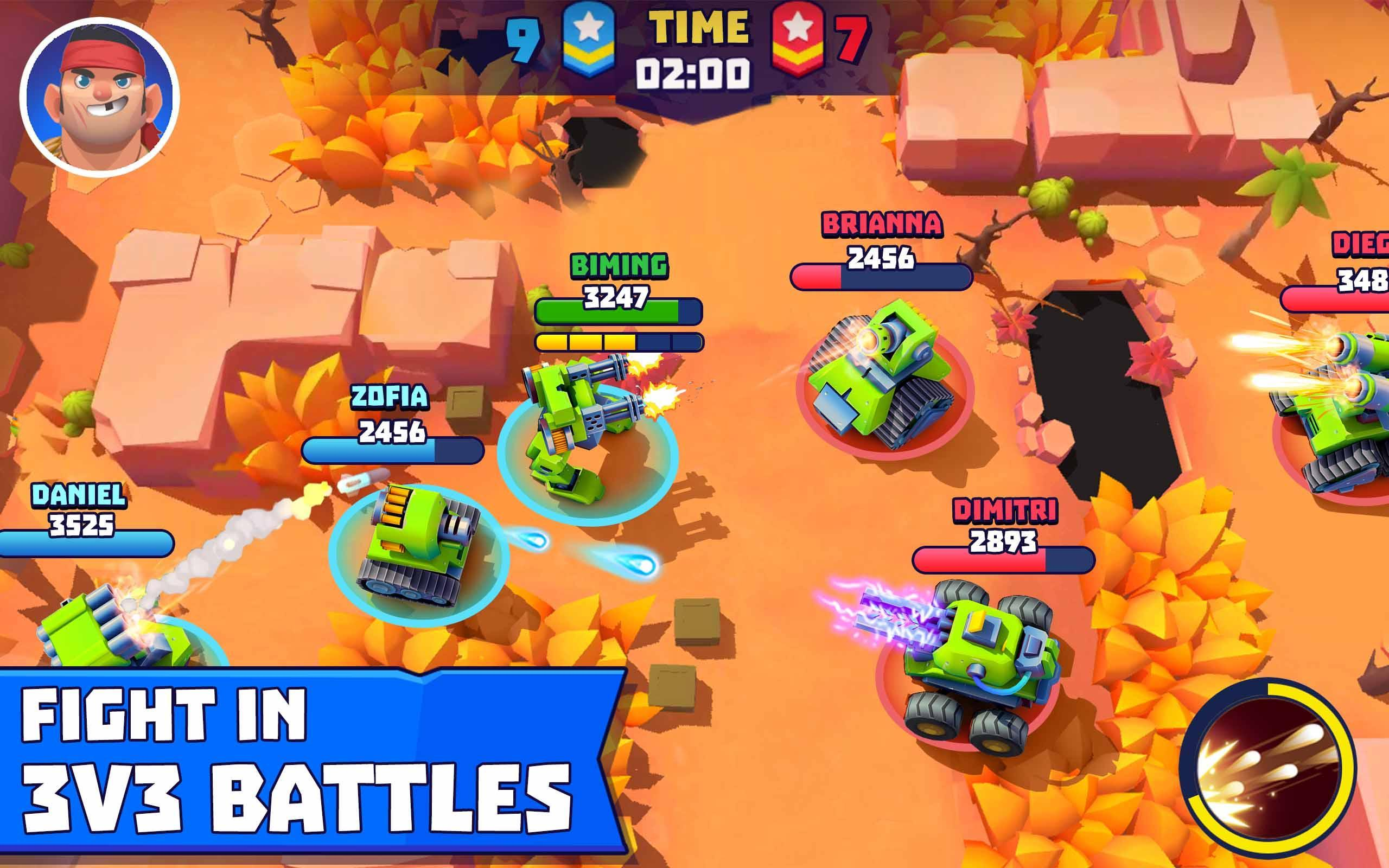 Tanks A Lot! - Realtime Multiplayer Battle Arena 2.56 Screenshot 17
