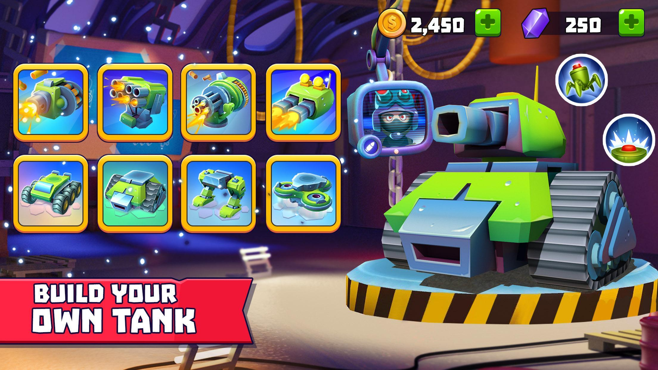 Tanks A Lot! - Realtime Multiplayer Battle Arena 2.56 Screenshot 2