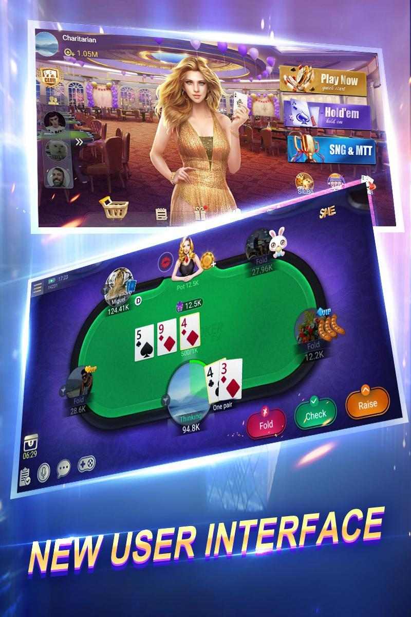 Texas Poker English (Boyaa) 6.0.0 Screenshot 1
