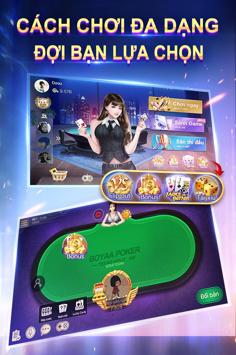 Texas Poker Việt Nam 5.9.2 Screenshot 1