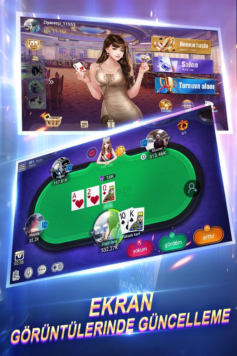Türkiye Texas Poker 6.0.0 Screenshot 1