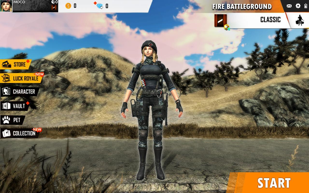 Fire Free Battleground Survival Hopeless Squad 1 Screenshot 5
