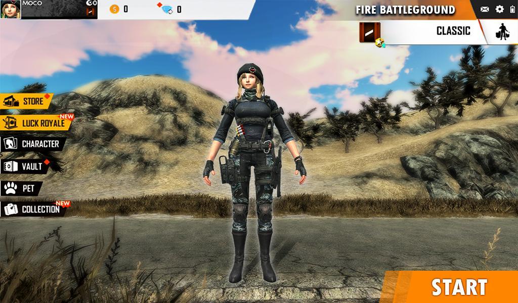 Fire Free Battleground Survival Hopeless Squad 1 Screenshot 9