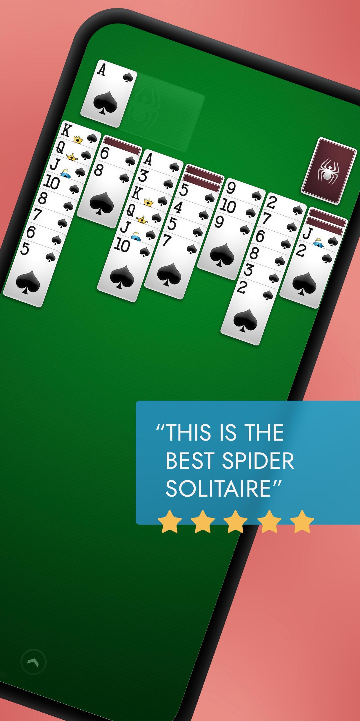 Spider Solitaire 1.3.91.86 Screenshot 1