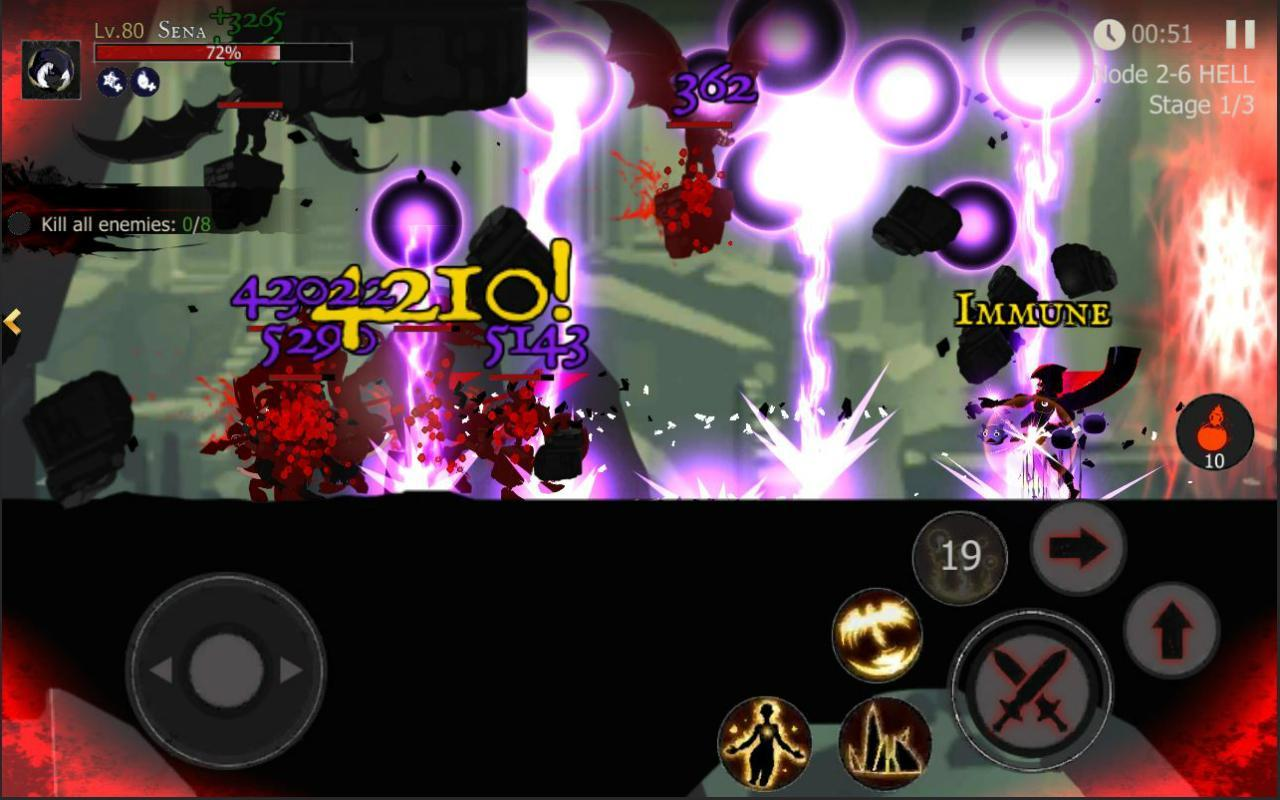 Shadow of Death: Dark Knight - Stickman Fighting 1.83.1.0 Screenshot 16