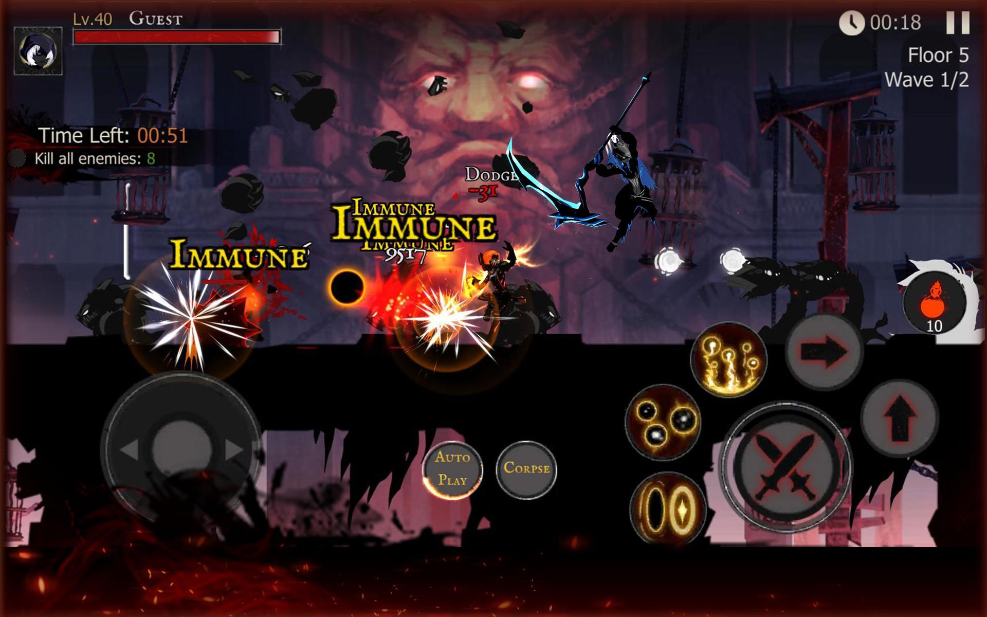 Shadow of Death: Dark Knight - Stickman Fighting 1.83.1.0 Screenshot 20