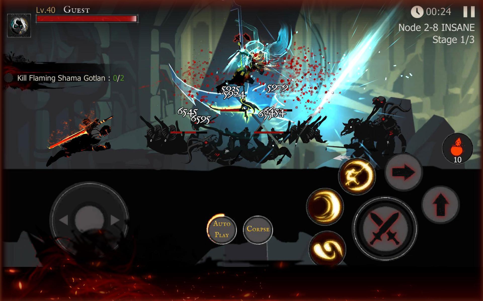 Shadow of Death: Dark Knight - Stickman Fighting 1.83.1.0 Screenshot 22