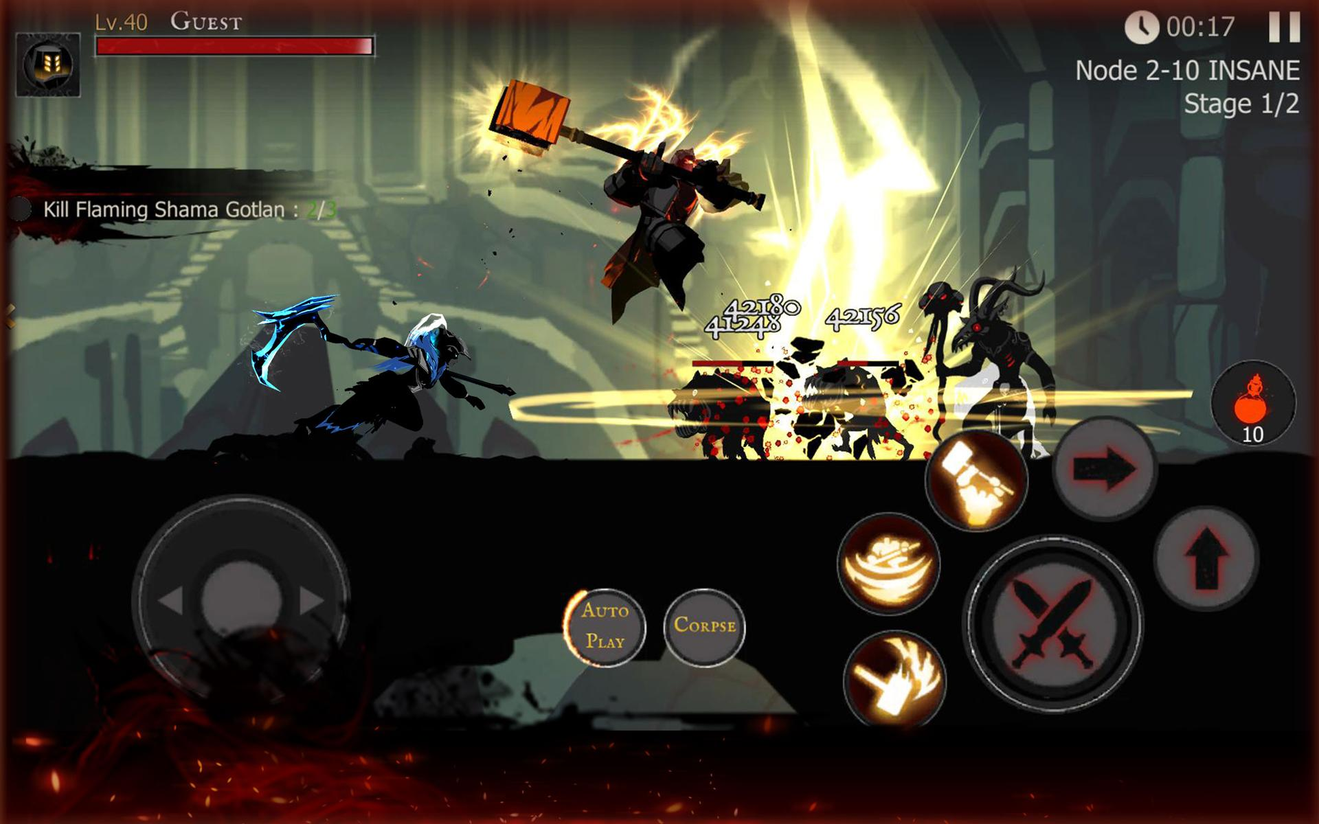 Shadow of Death: Dark Knight - Stickman Fighting 1.83.1.0 Screenshot 23