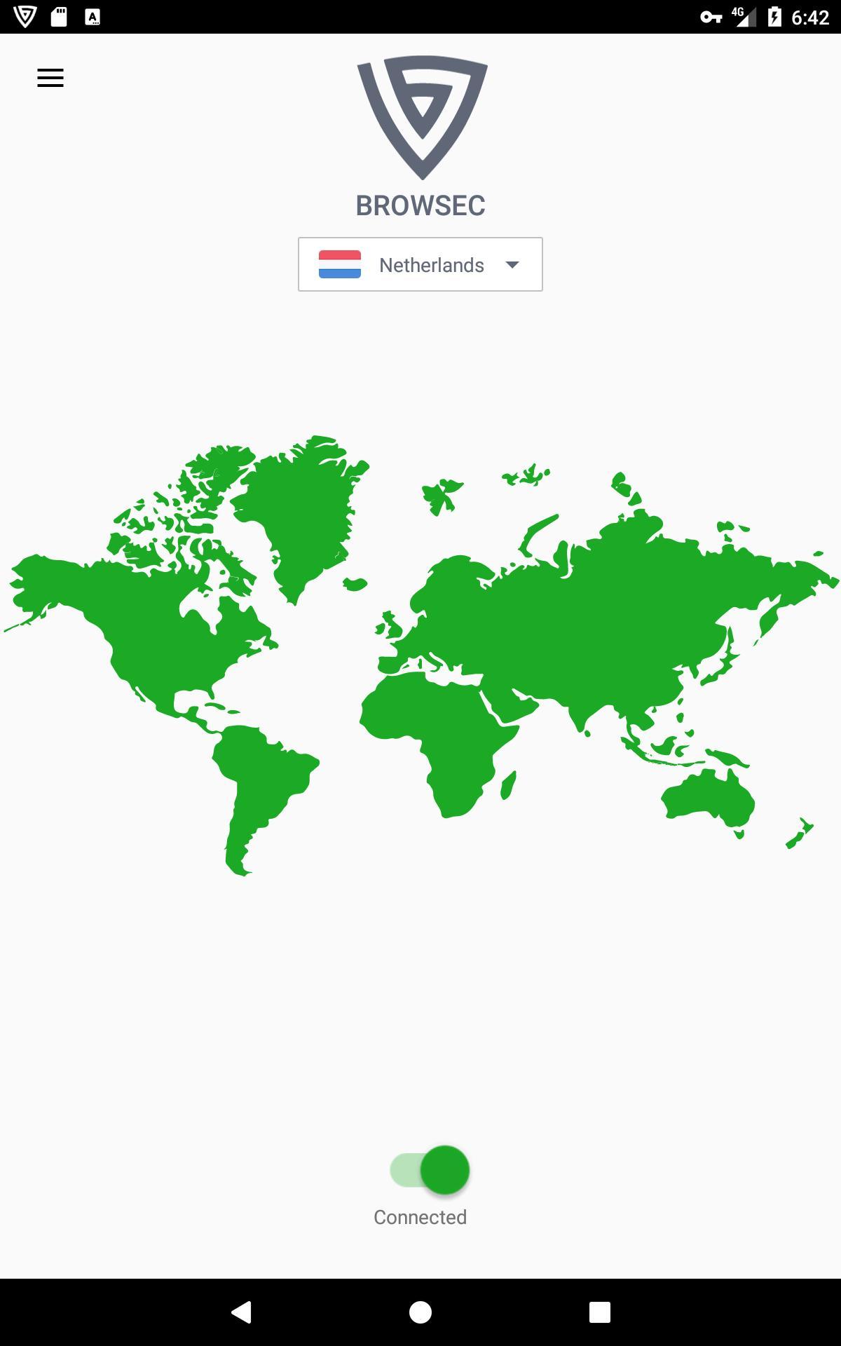 Browsec VPN - Free and Unlimited VPN 0.34 Screenshot 5
