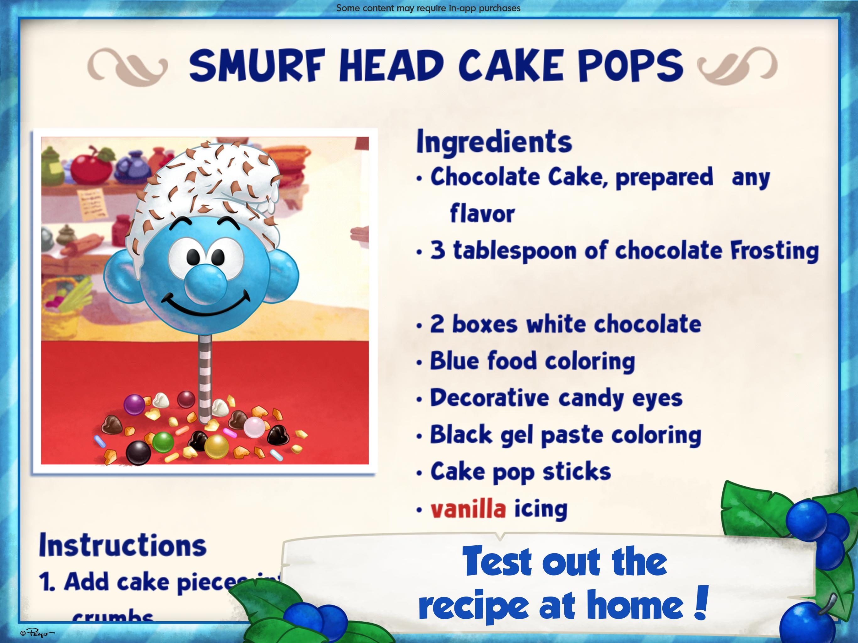 The Smurfs Bakery 1.7 Screenshot 16