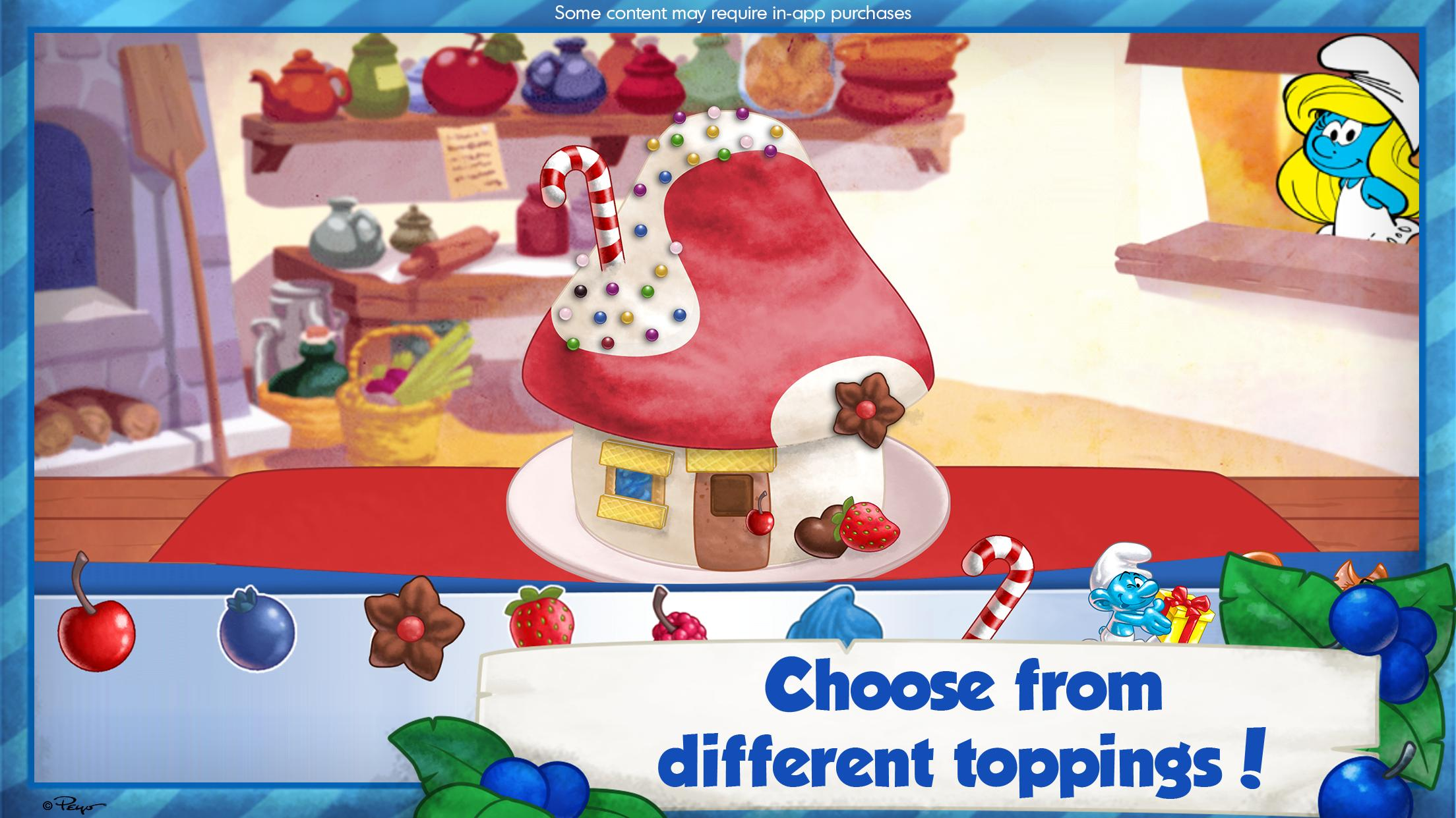 The Smurfs Bakery 1.7 Screenshot 3