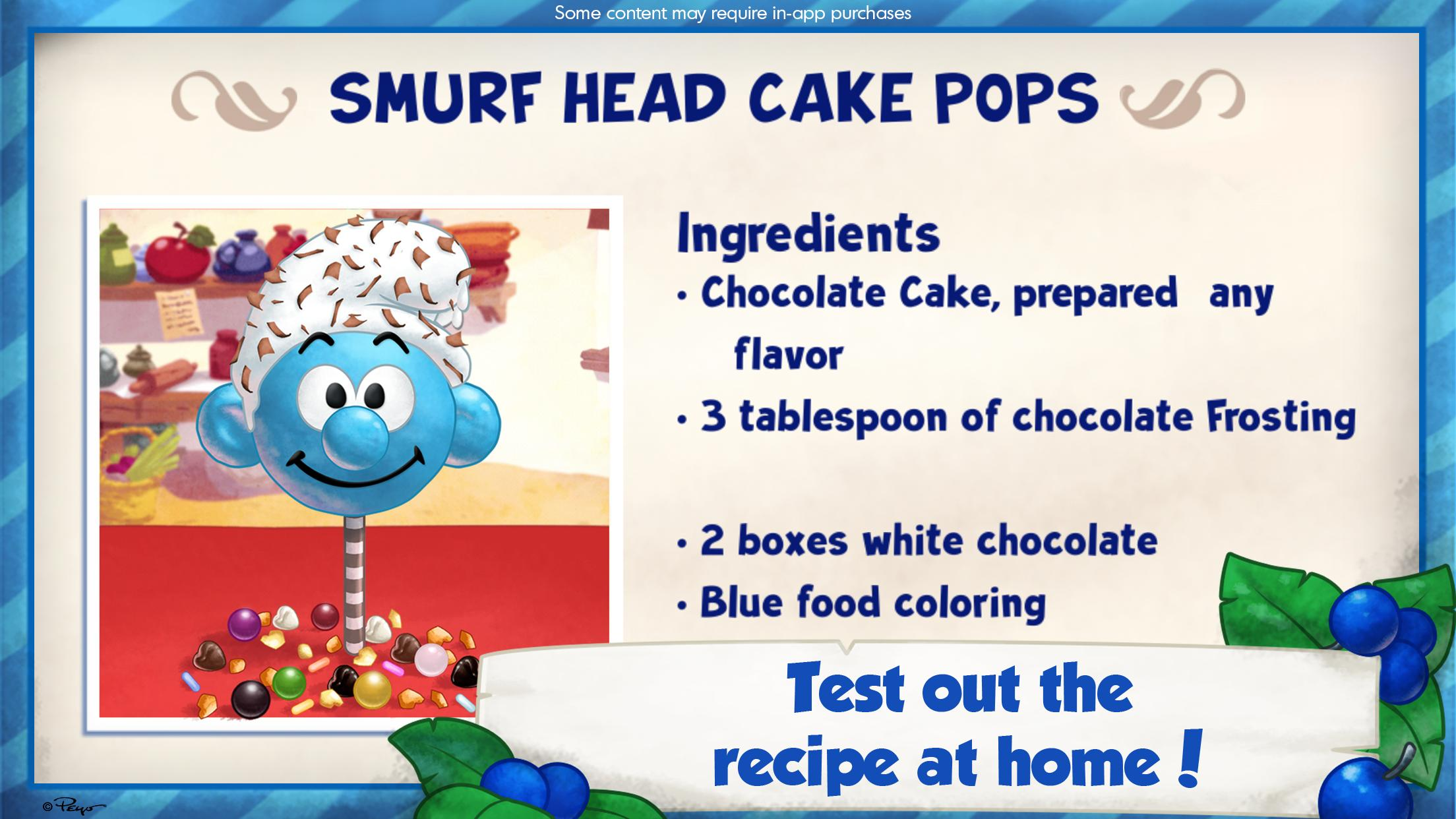 The Smurfs Bakery 1.7 Screenshot 5