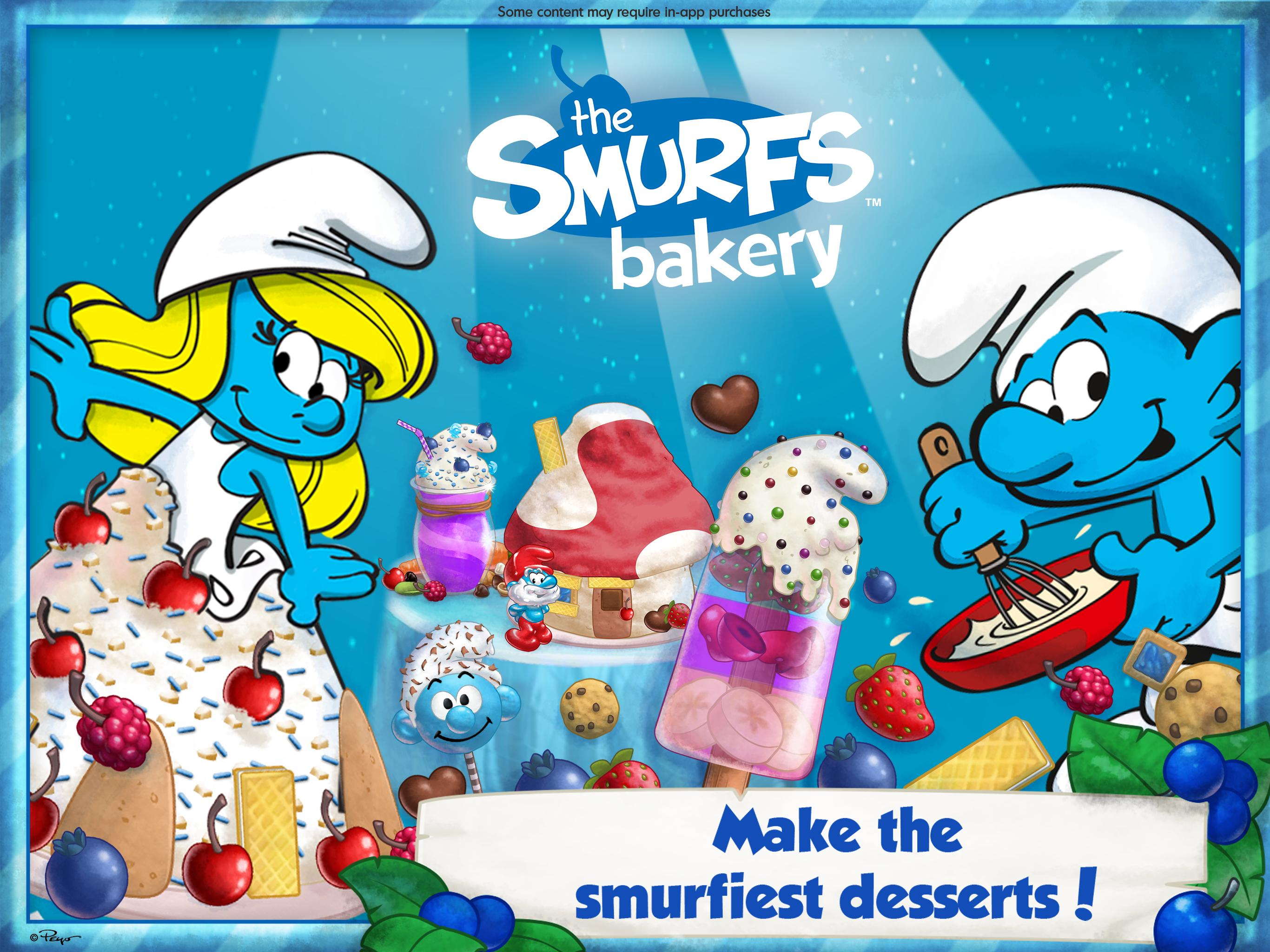 The Smurfs Bakery 1.7 Screenshot 6