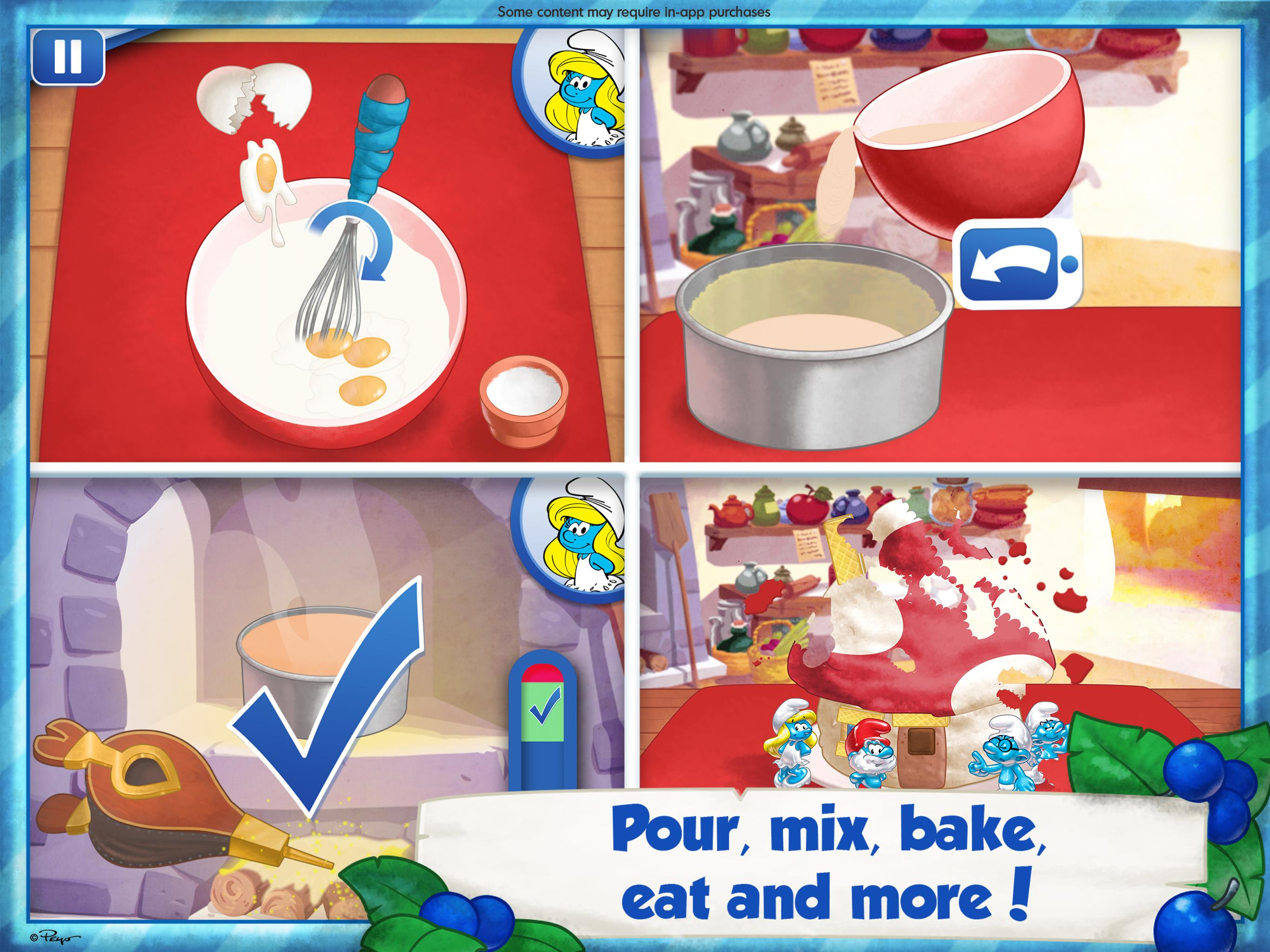 The Smurfs Bakery 1.7 Screenshot 7