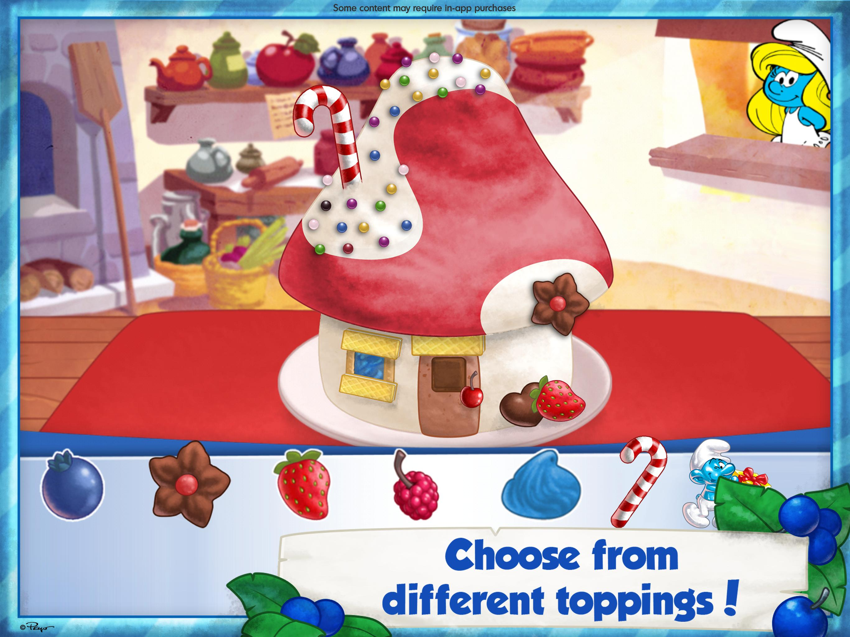 The Smurfs Bakery 1.7 Screenshot 8