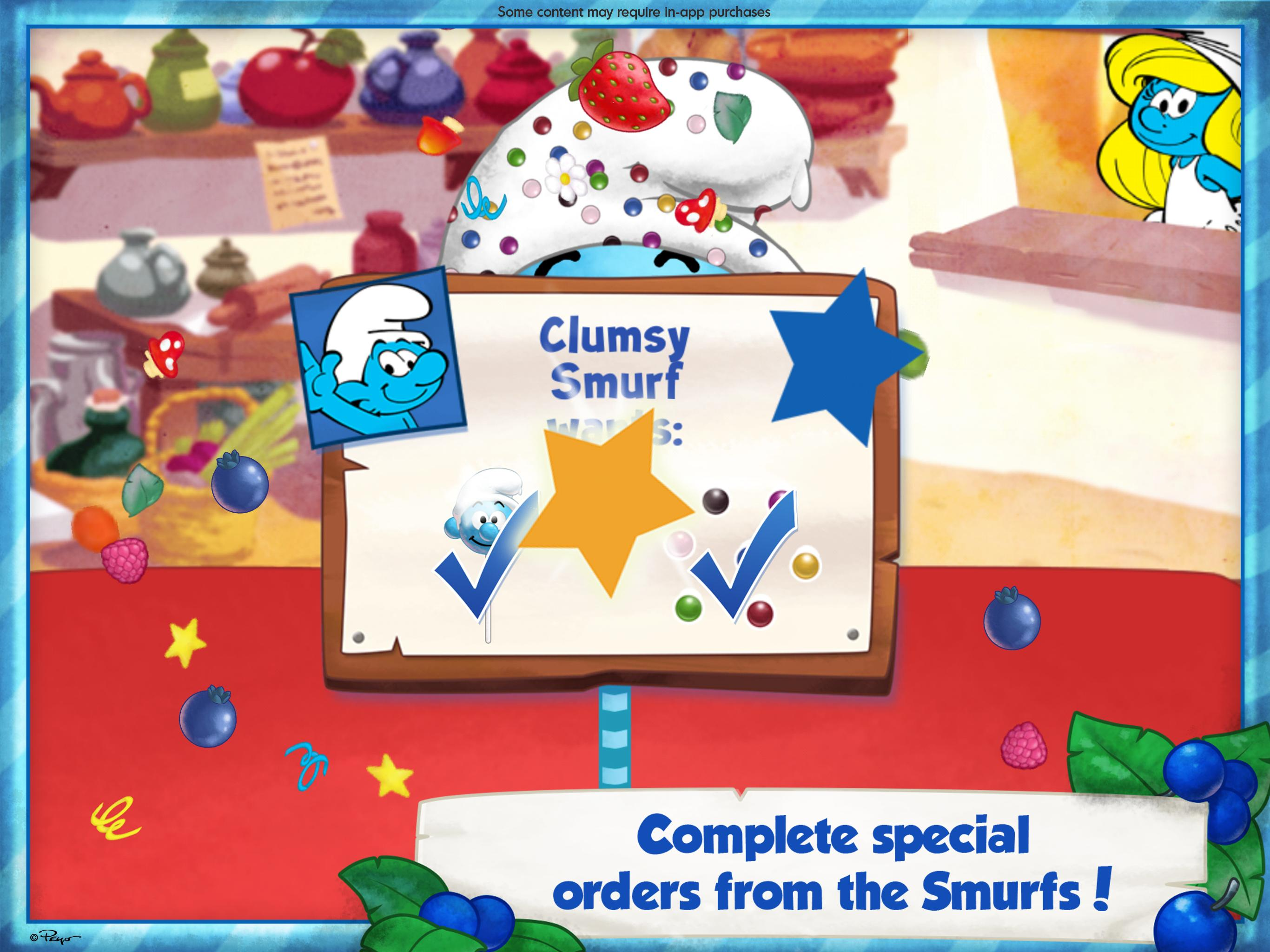 The Smurfs Bakery 1.7 Screenshot 9