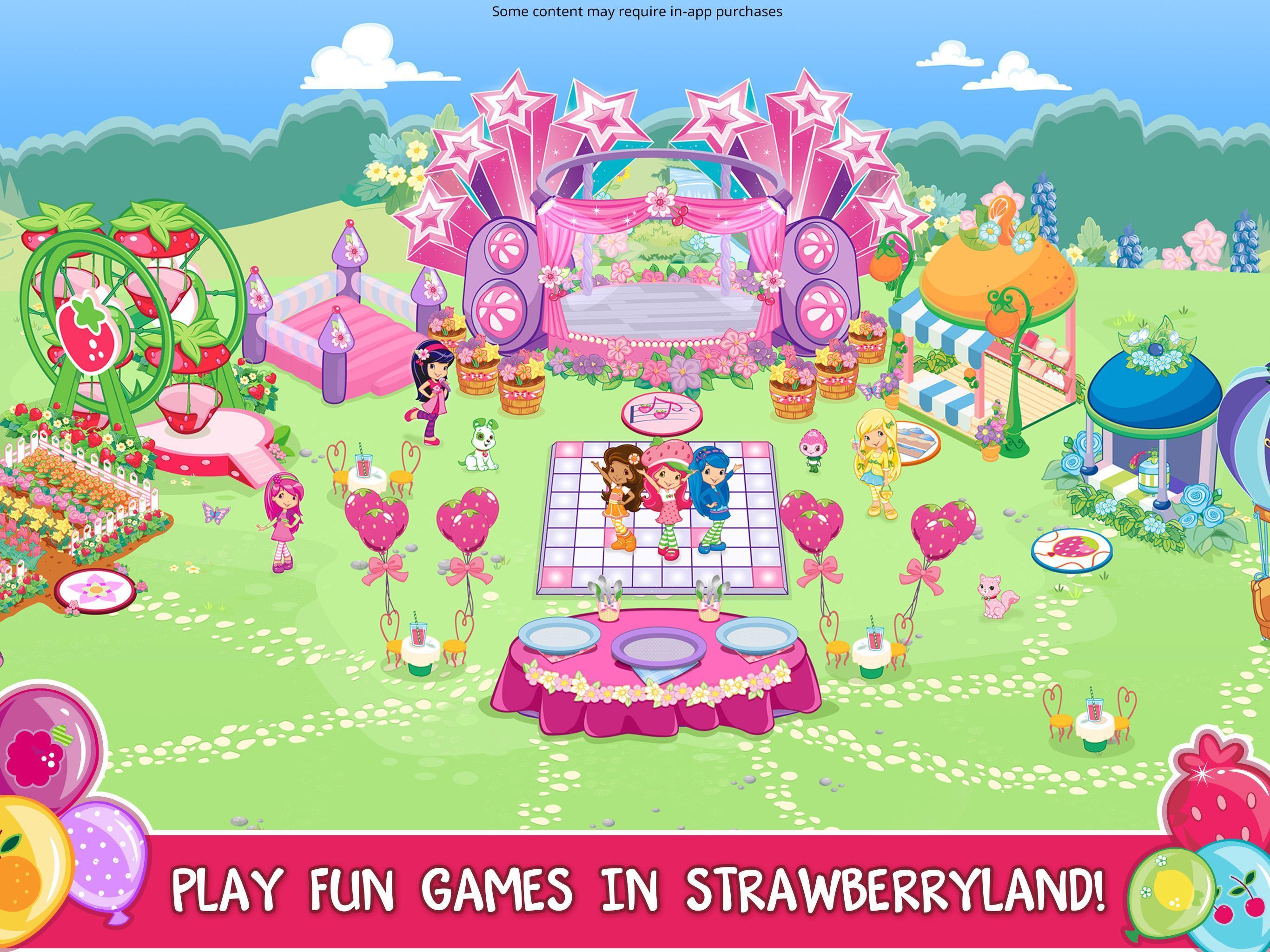 Strawberry Shortcake Berryfest Party 1.6 Screenshot 10