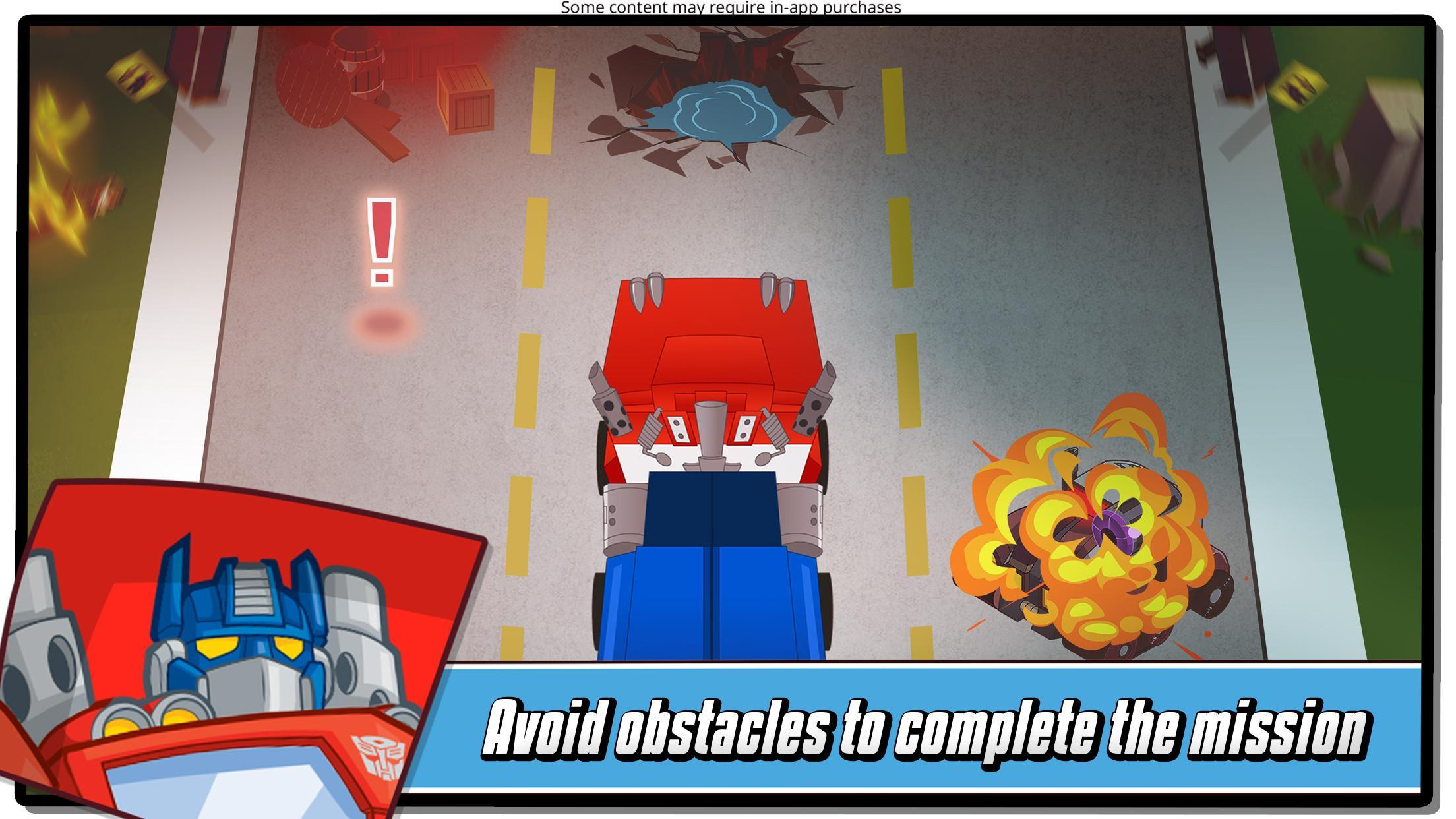 Transformers Rescue Bots: Hero Adventures 2.1 Screenshot 1