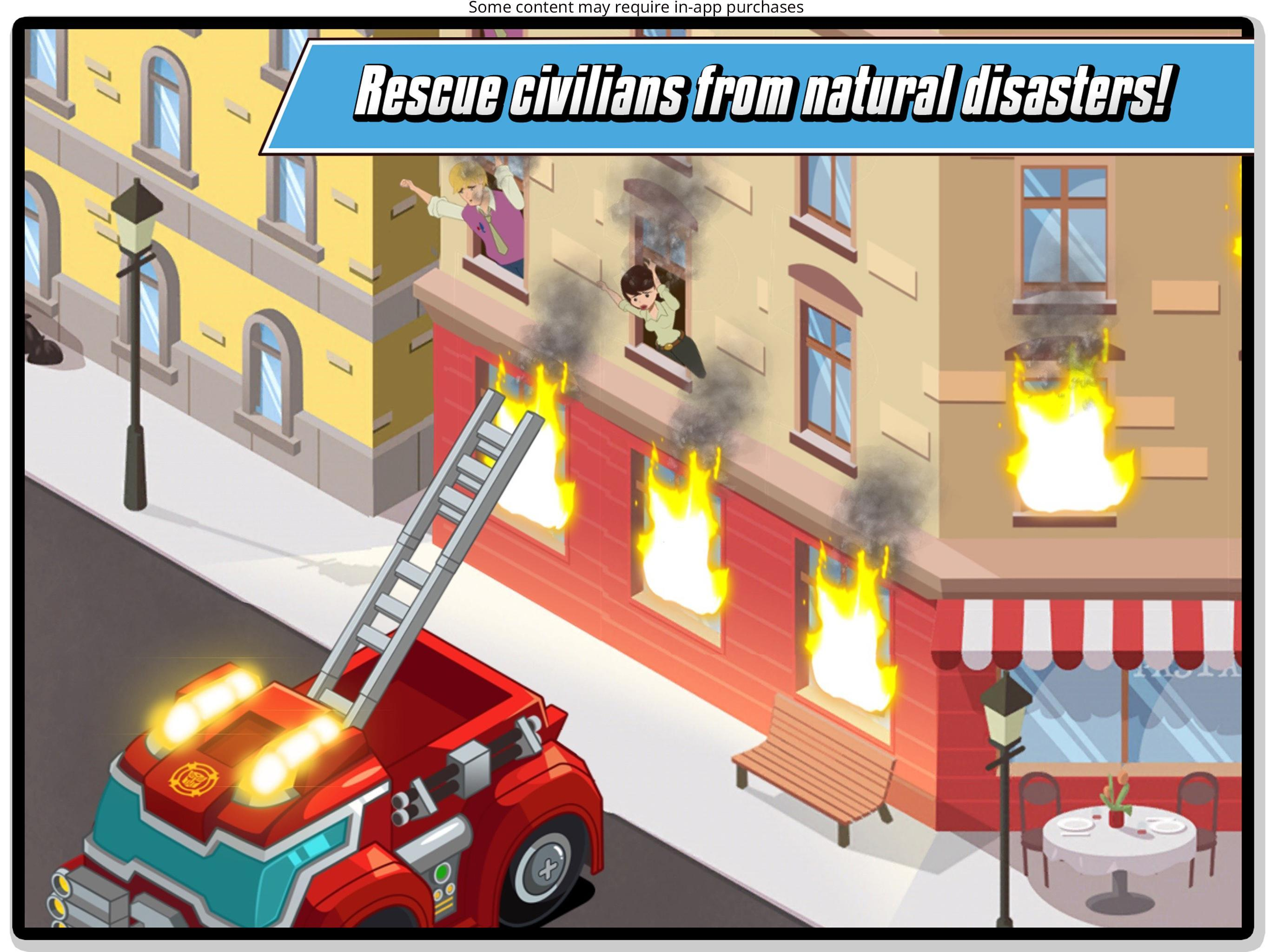 Transformers Rescue Bots: Hero Adventures 2.1 Screenshot 10