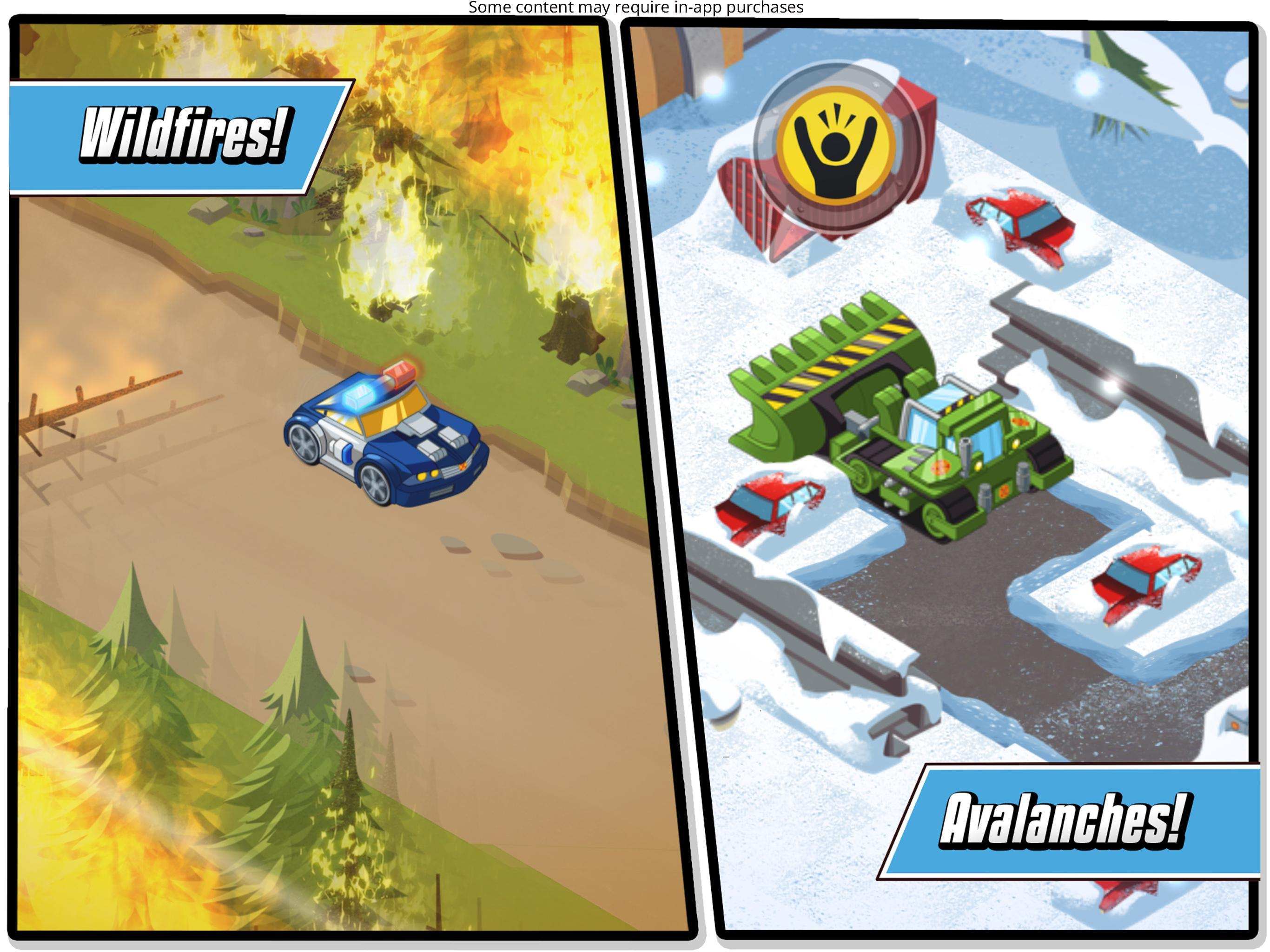 Transformers Rescue Bots: Hero Adventures 2.1 Screenshot 12