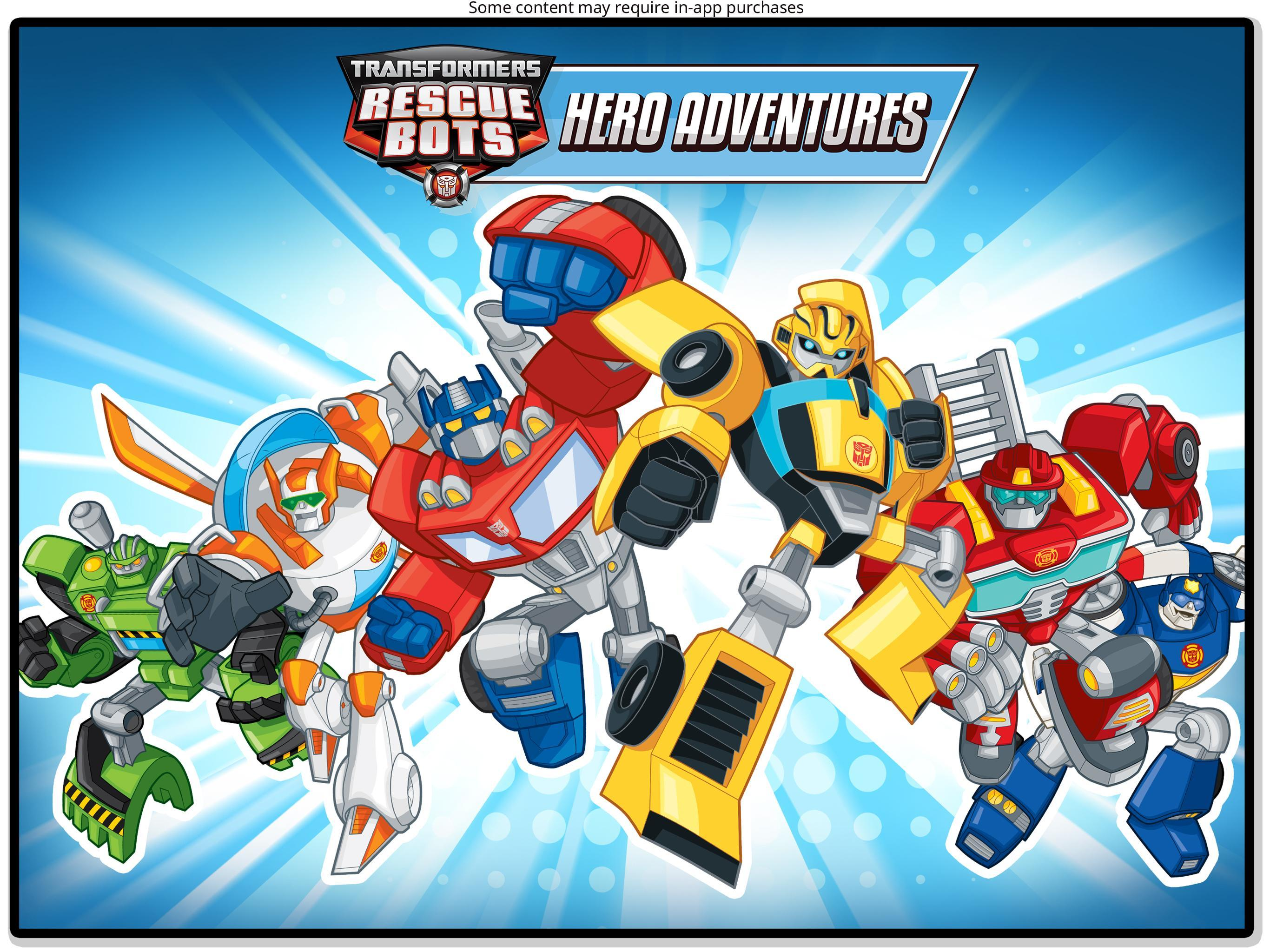 Transformers Rescue Bots: Hero Adventures 2.1 Screenshot 13