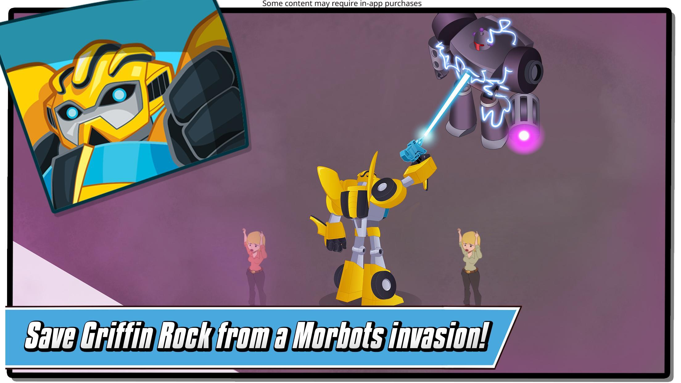 Transformers Rescue Bots: Hero Adventures 2.1 Screenshot 2