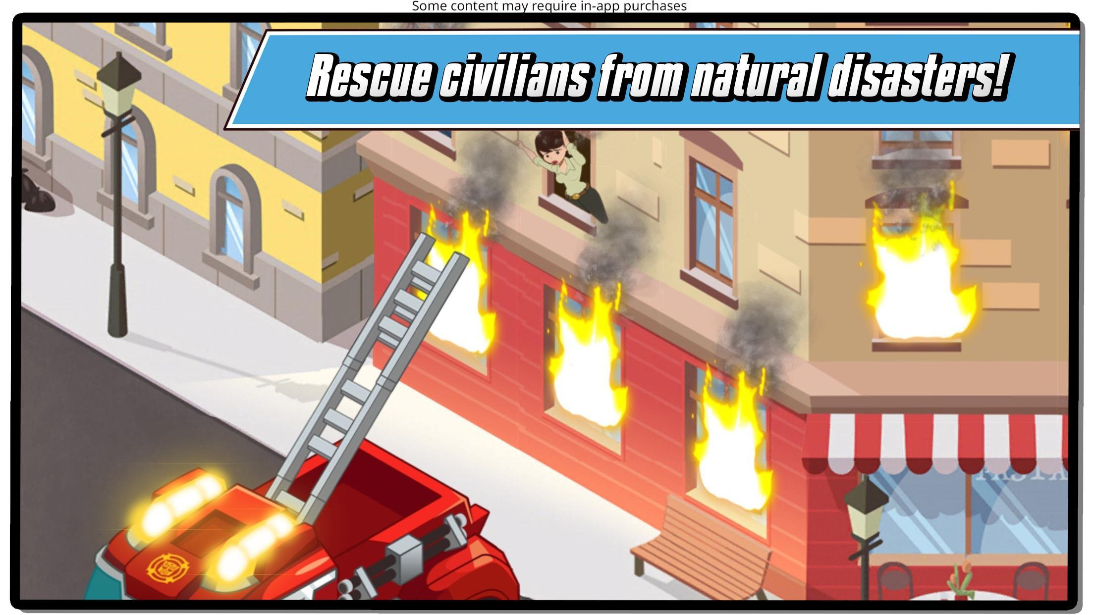 Transformers Rescue Bots: Hero Adventures 2.1 Screenshot 3
