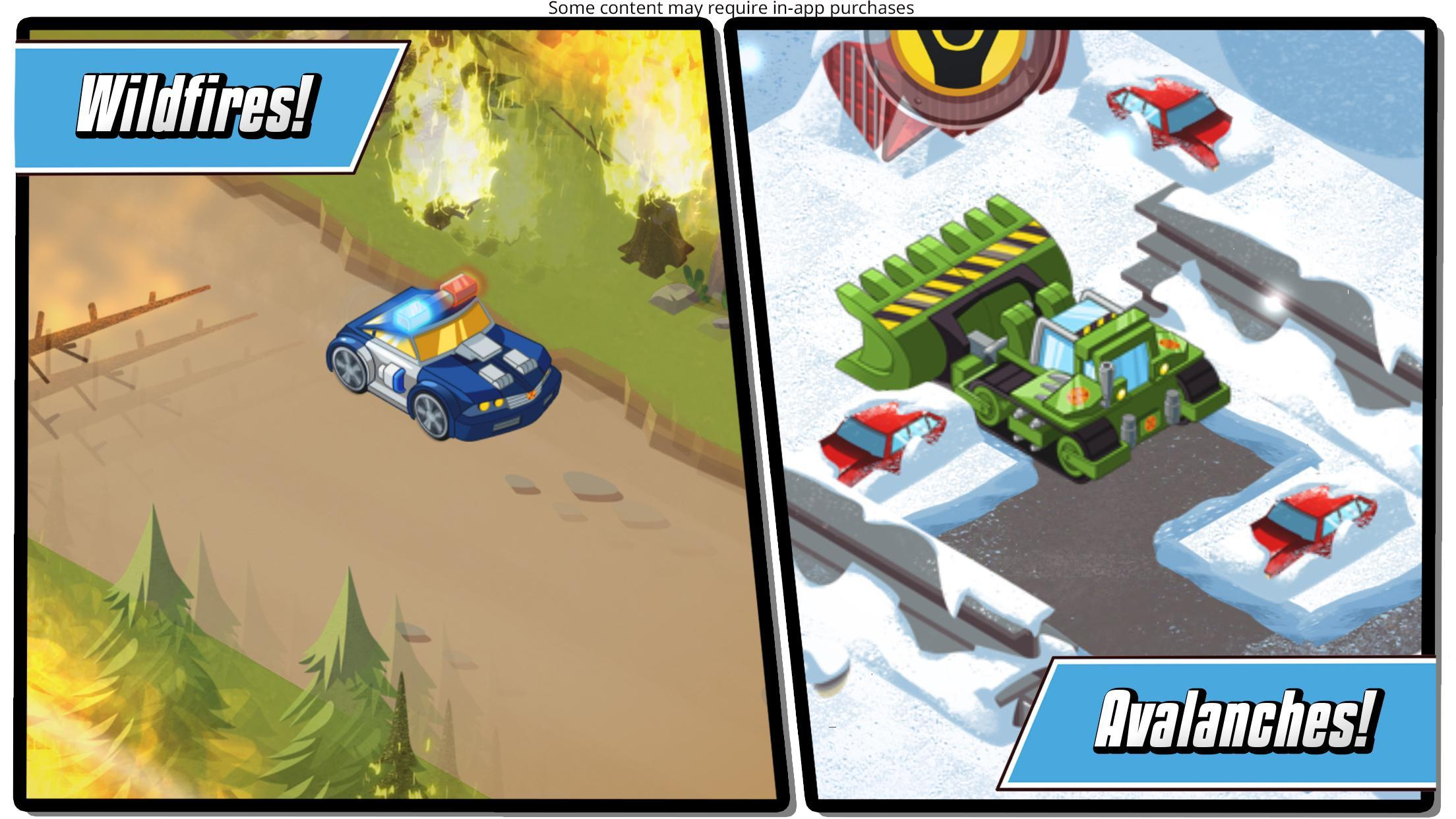 Transformers Rescue Bots: Hero Adventures 2.1 Screenshot 5