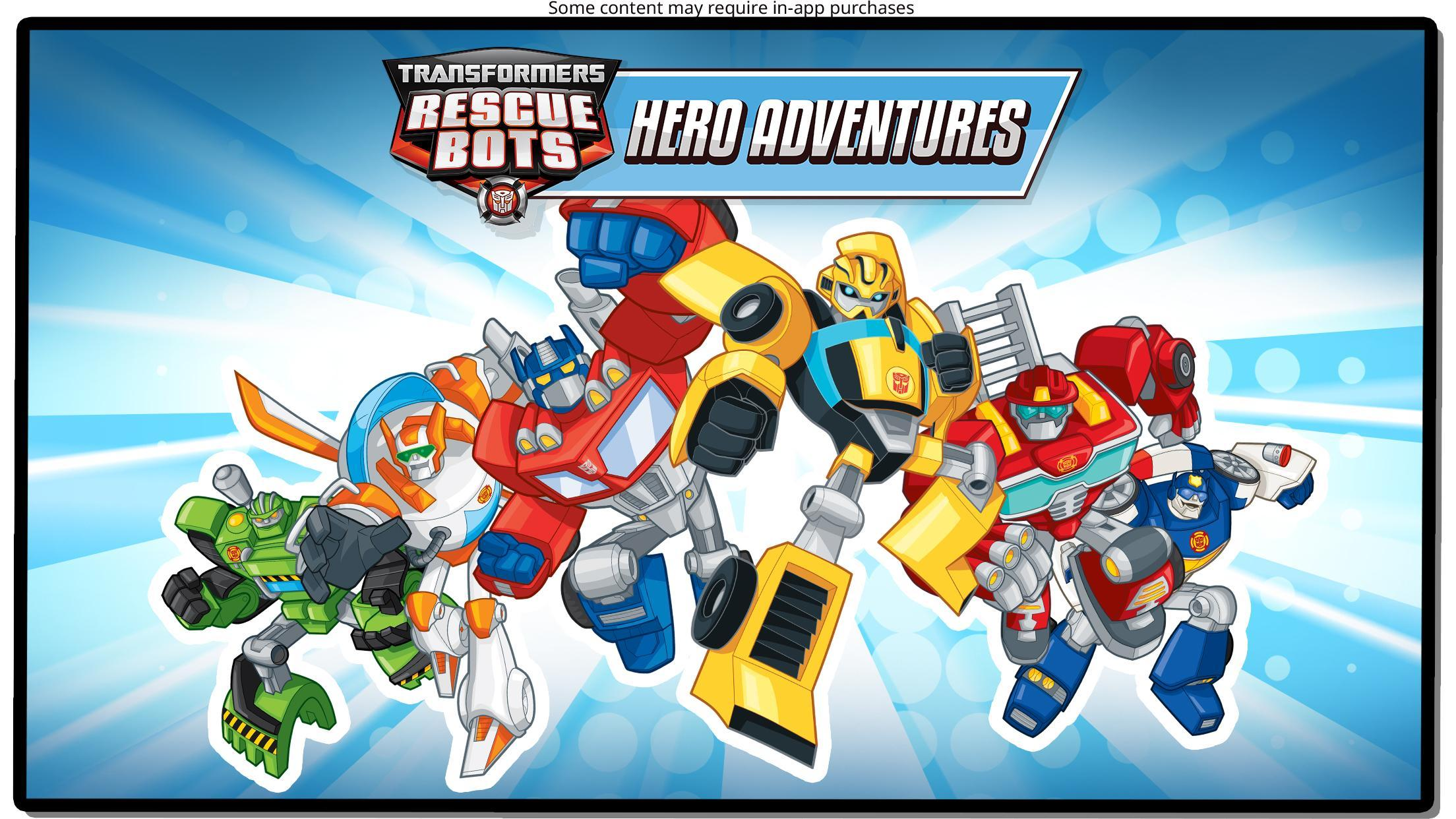 Transformers Rescue Bots: Hero Adventures 2.1 Screenshot 6